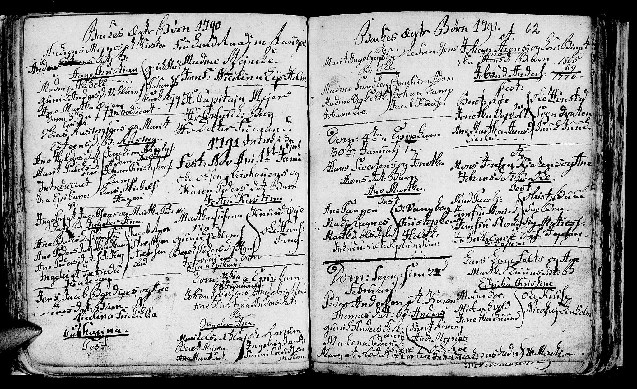 SAT, Ministerialprotokoller, klokkerbøker og fødselsregistre - Sør-Trøndelag, 604/L0218: Klokkerbok nr. 604C01, 1754-1819, s. 62