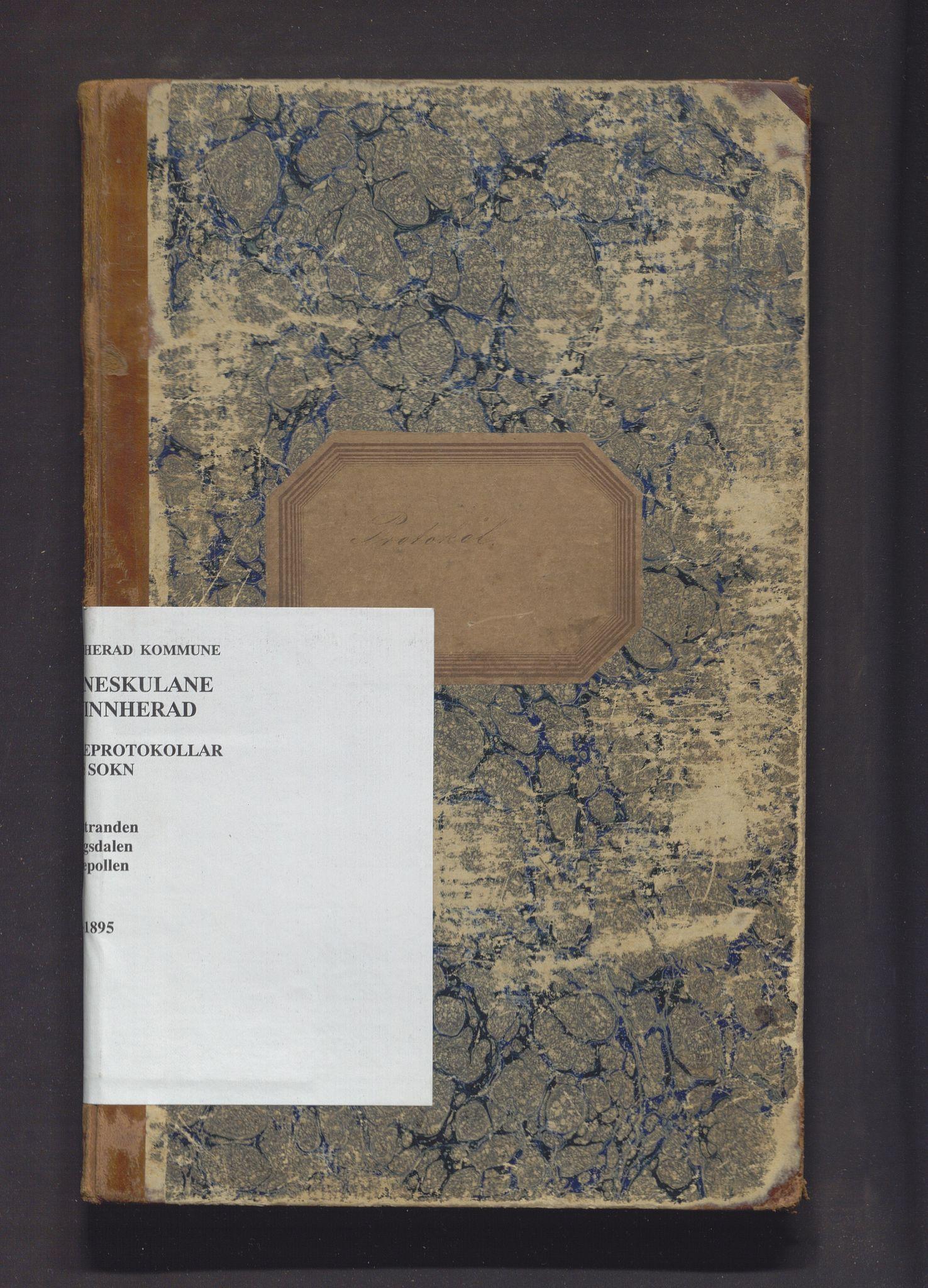 IKAH, Kvinnherad kommune. Barneskulane, F/Fd/L0003: Skuleprotokoll for Årvikstranden, Gjetingsdalen og Nordrepollen krinsar, 1885-1895