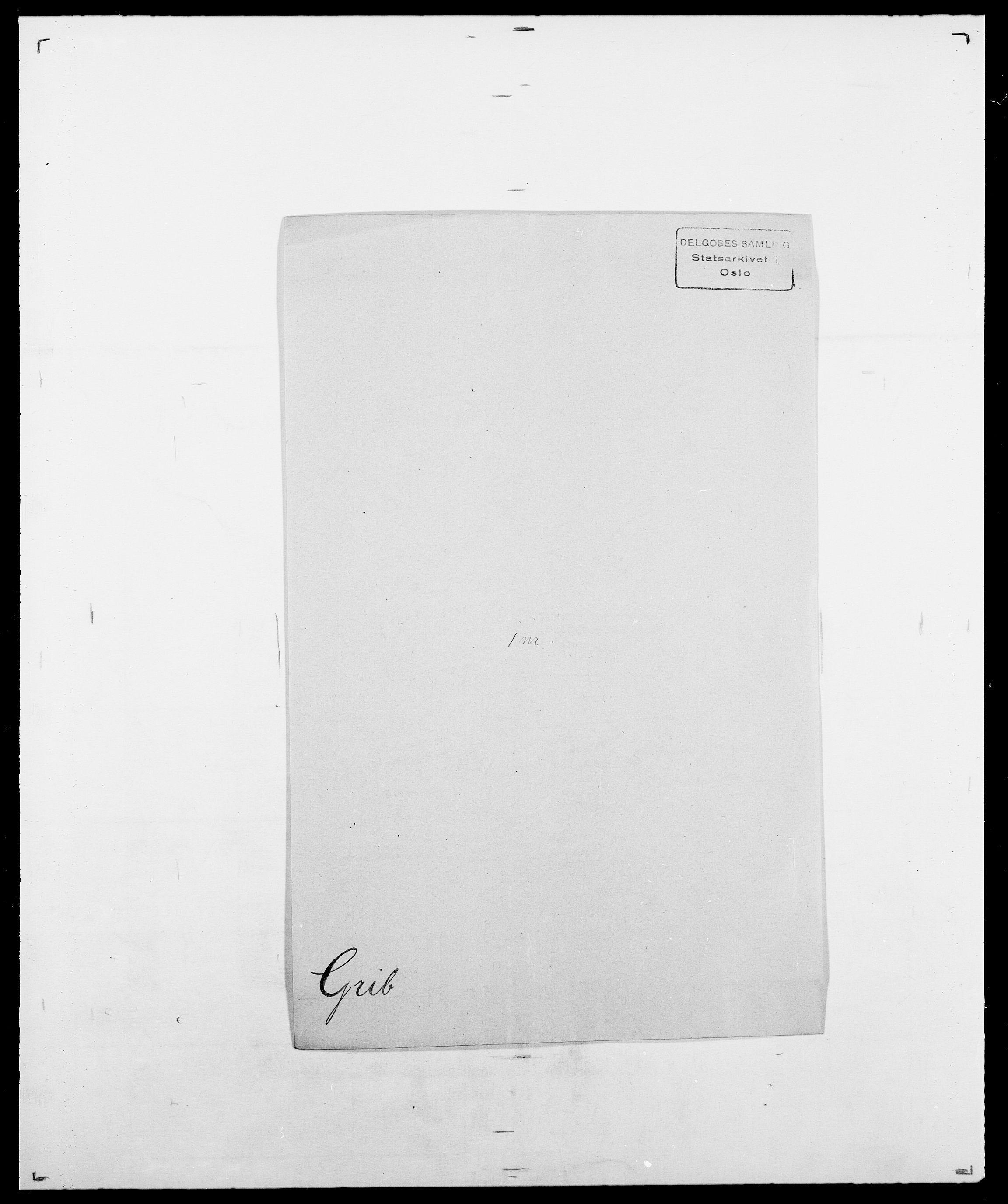 SAO, Delgobe, Charles Antoine - samling, D/Da/L0014: Giebdhausen - Grip, s. 641