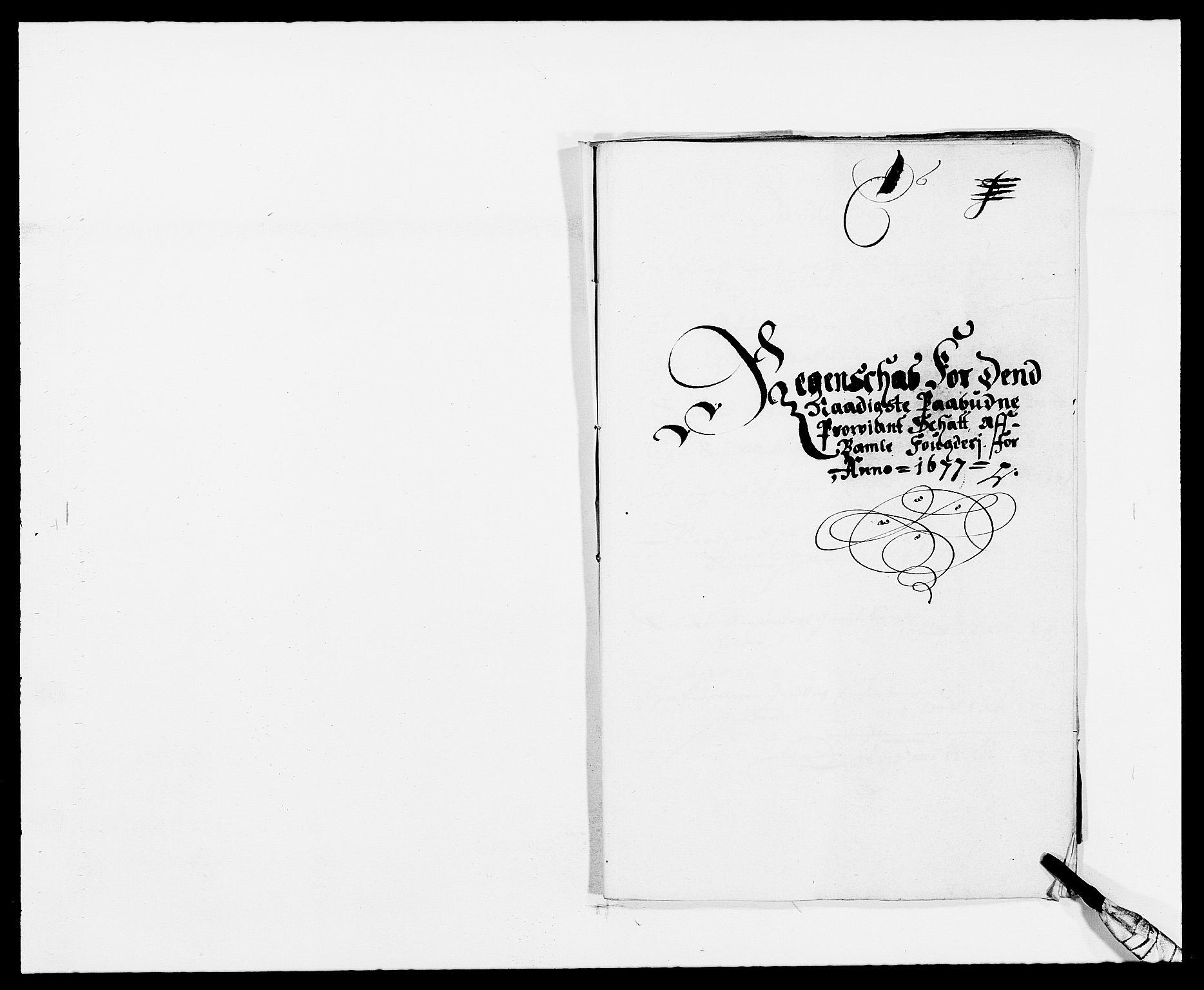 RA, Rentekammeret inntil 1814, Reviderte regnskaper, Fogderegnskap, R34/L2043: Fogderegnskap Bamble, 1676-1677, s. 336
