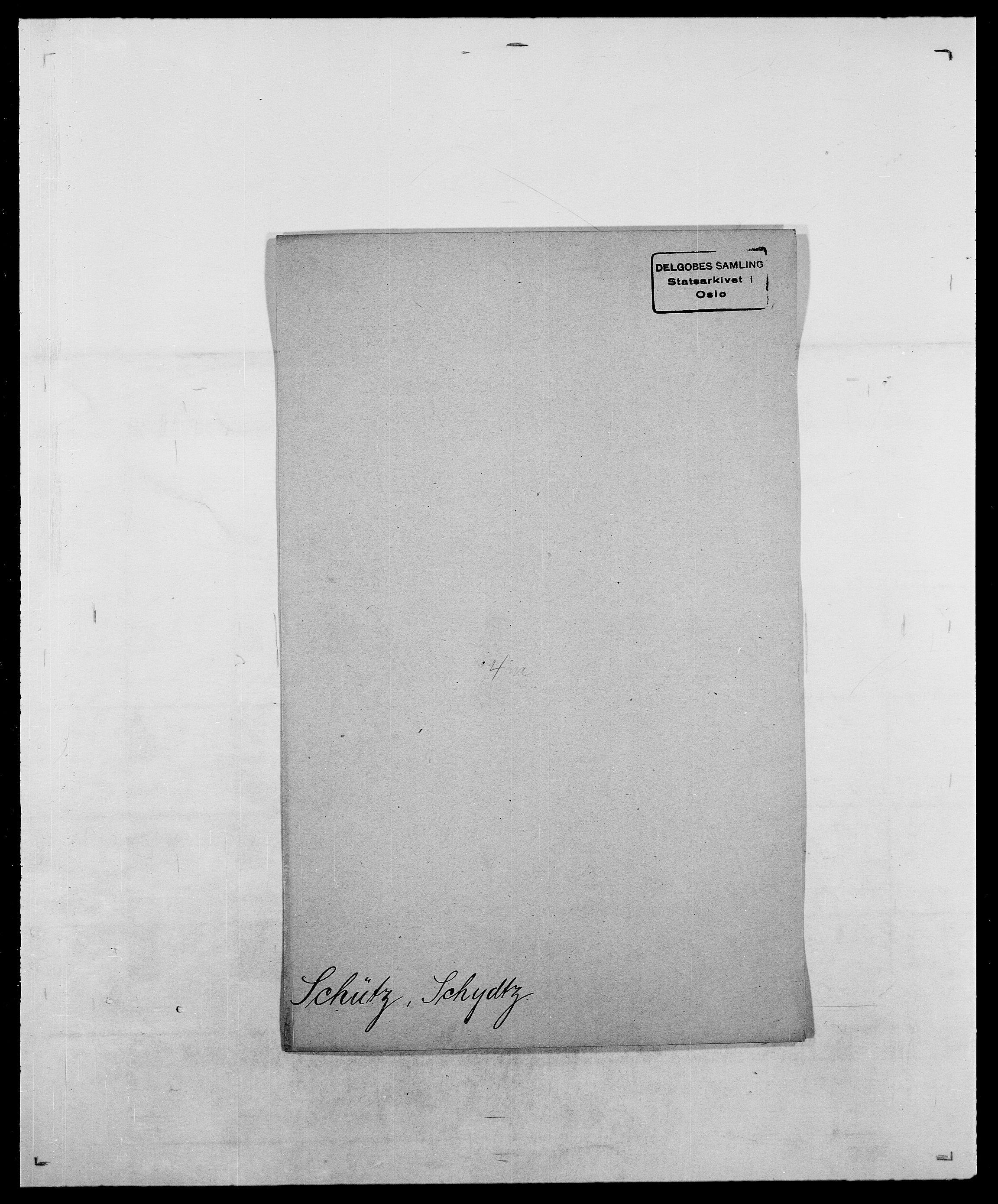 SAO, Delgobe, Charles Antoine - samling, D/Da/L0035: Schnabel - sjetman, s. 449