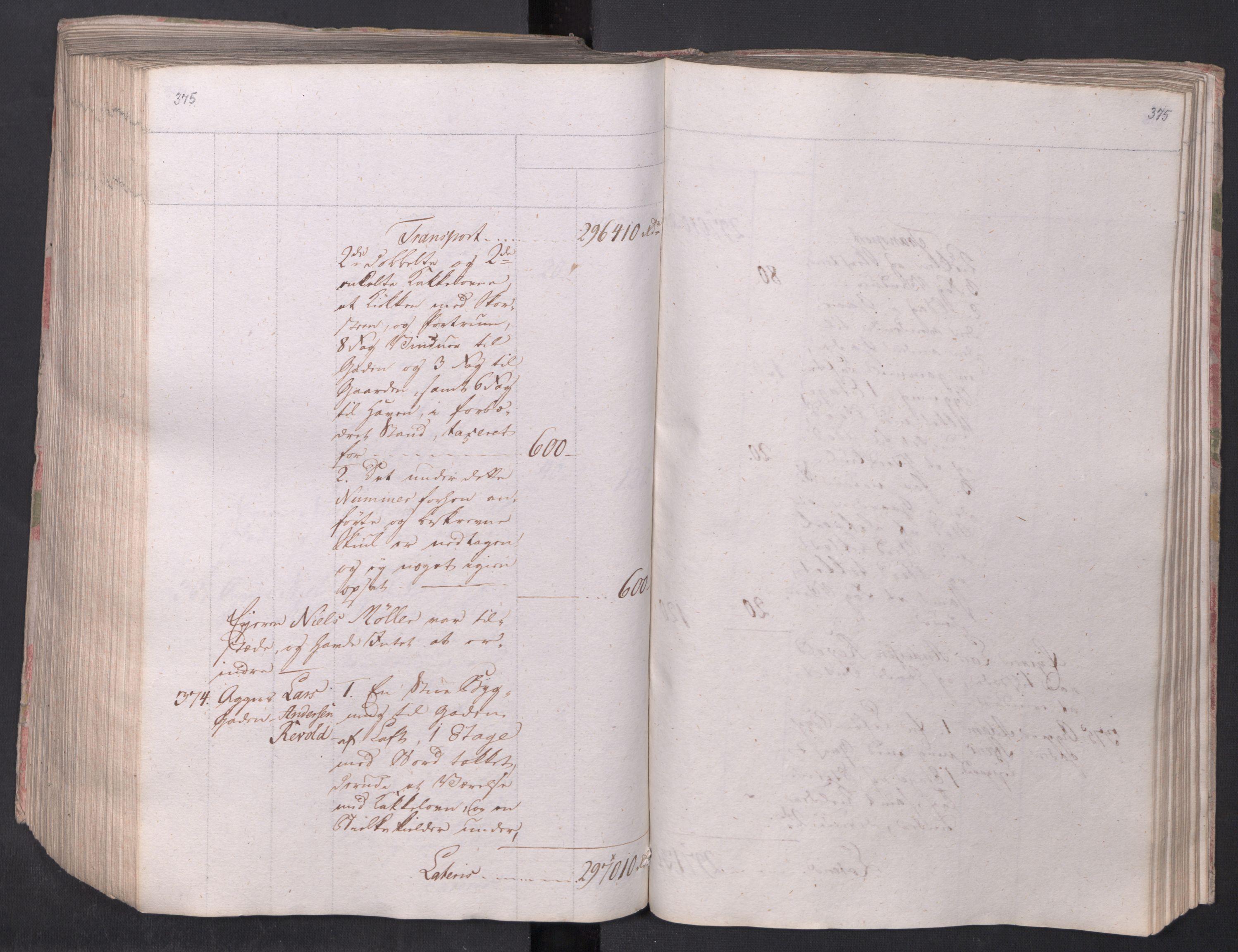 SAO, Kristiania stiftamt, I/Ia/L0015: Branntakster, 1797, s. 375