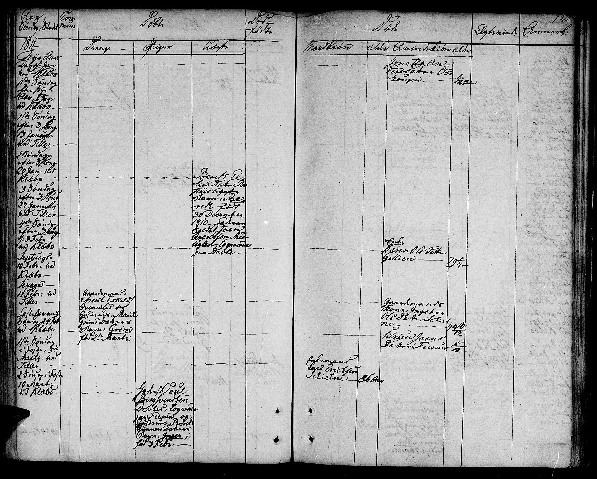 SAT, Ministerialprotokoller, klokkerbøker og fødselsregistre - Sør-Trøndelag, 618/L0438: Ministerialbok nr. 618A03, 1783-1815, s. 121