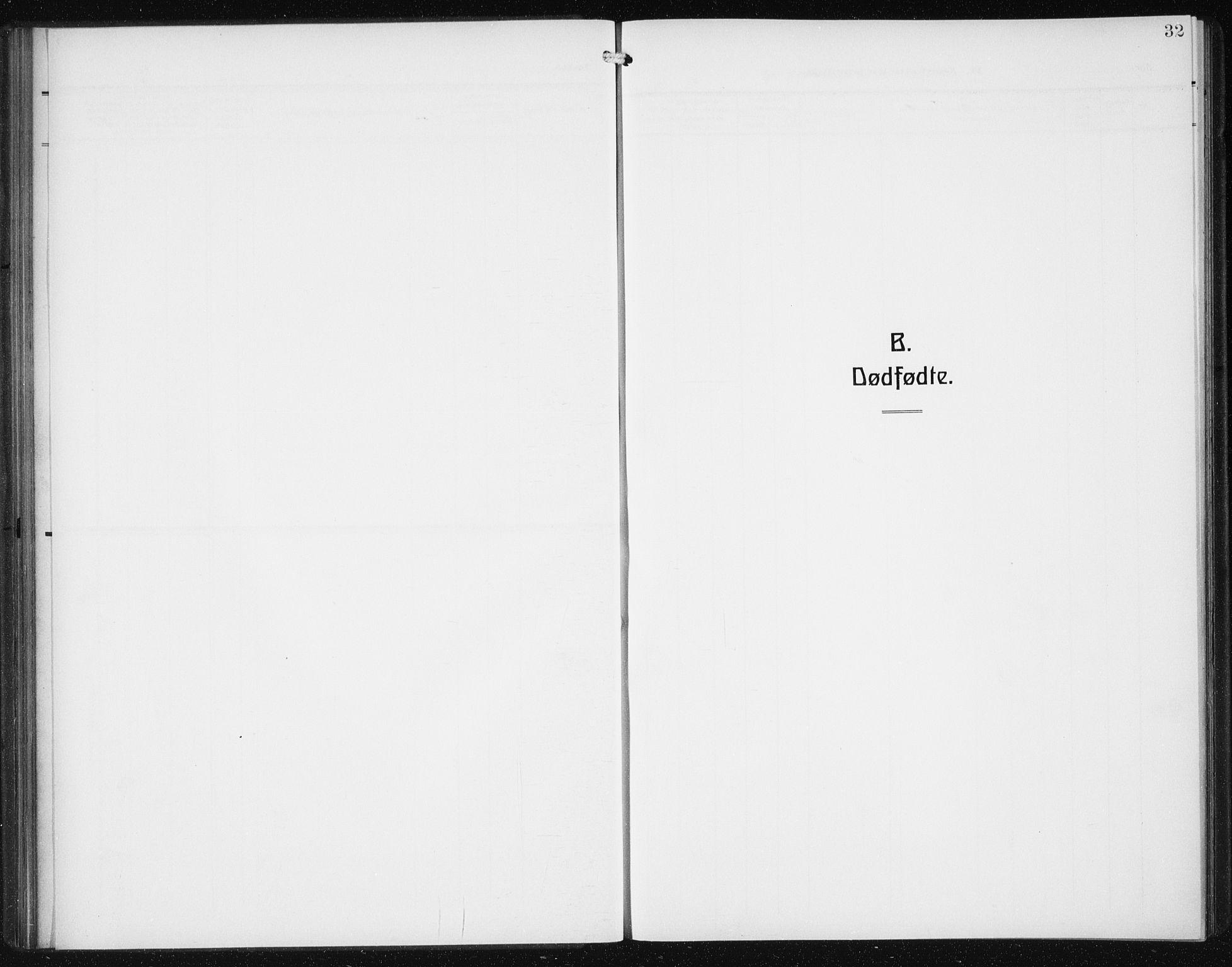SAB, Den Norske Sjømannsmisjon i utlandet*, Ministerialbok nr. A 1, 1912-1931, s. 32