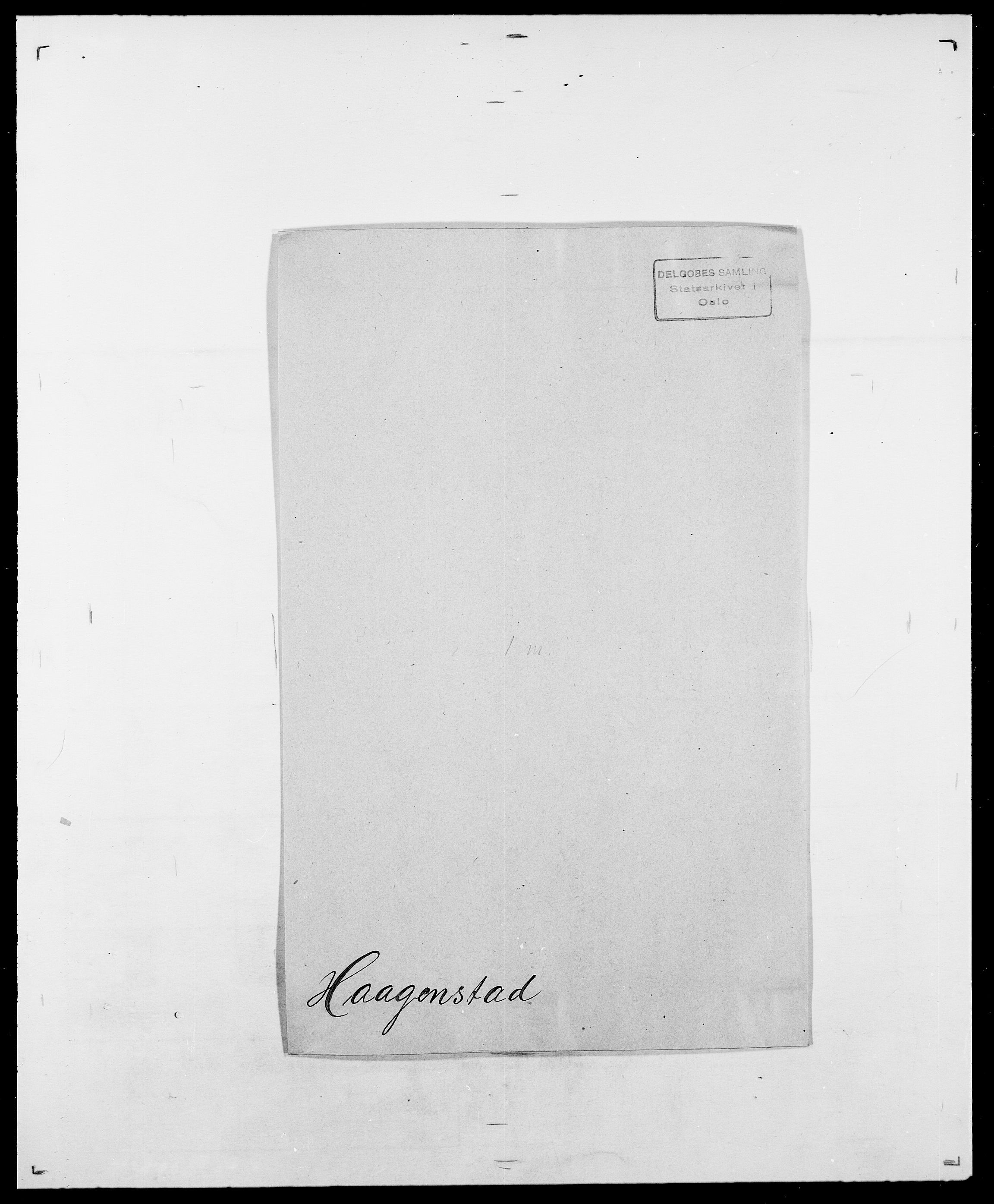 SAO, Delgobe, Charles Antoine - samling, D/Da/L0015: Grodtshilling - Halvorsæth, s. 576