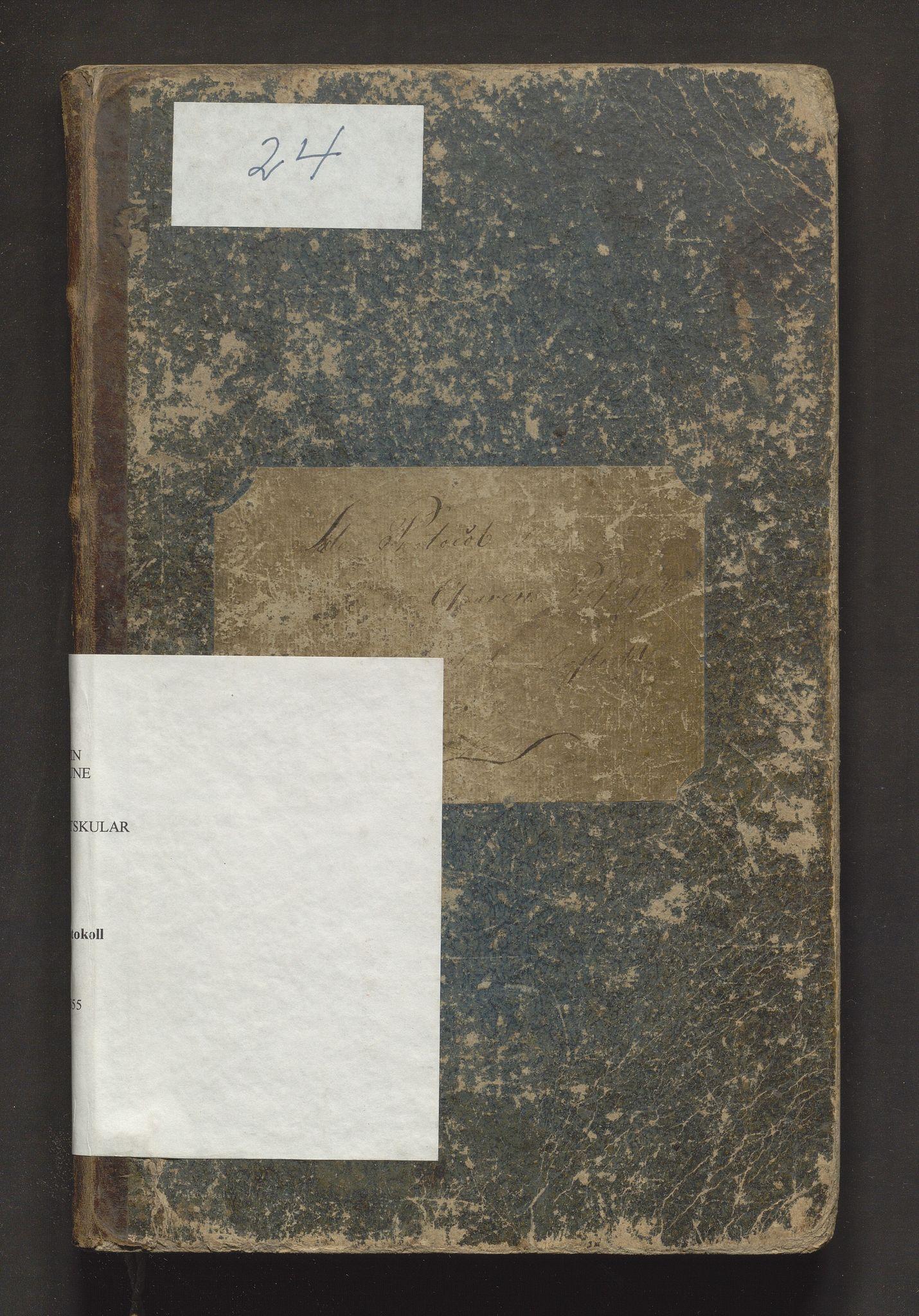 IKAH, Granvin herad. Barneskulane, F/Fa/L0001: Skuleprotokoll for 2. skuledistrikt i Gravens prestegjeld, 1837-1855