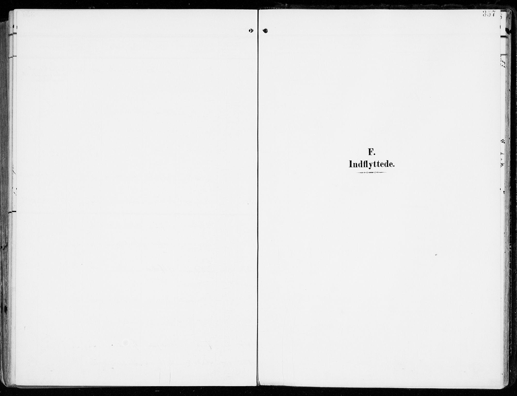 SAKO, Tjølling kirkebøker, F/Fa/L0010: Ministerialbok nr. 10, 1906-1923, s. 357