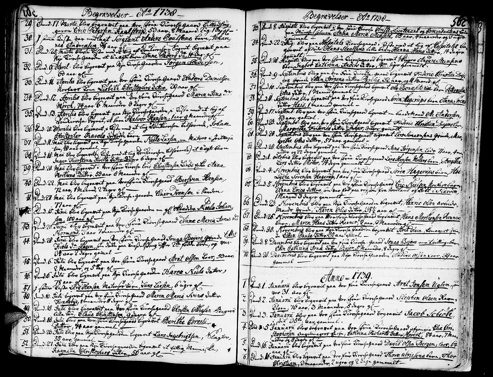 SAT, Ministerialprotokoller, klokkerbøker og fødselsregistre - Sør-Trøndelag, 602/L0103: Ministerialbok nr. 602A01, 1732-1774, s. 562