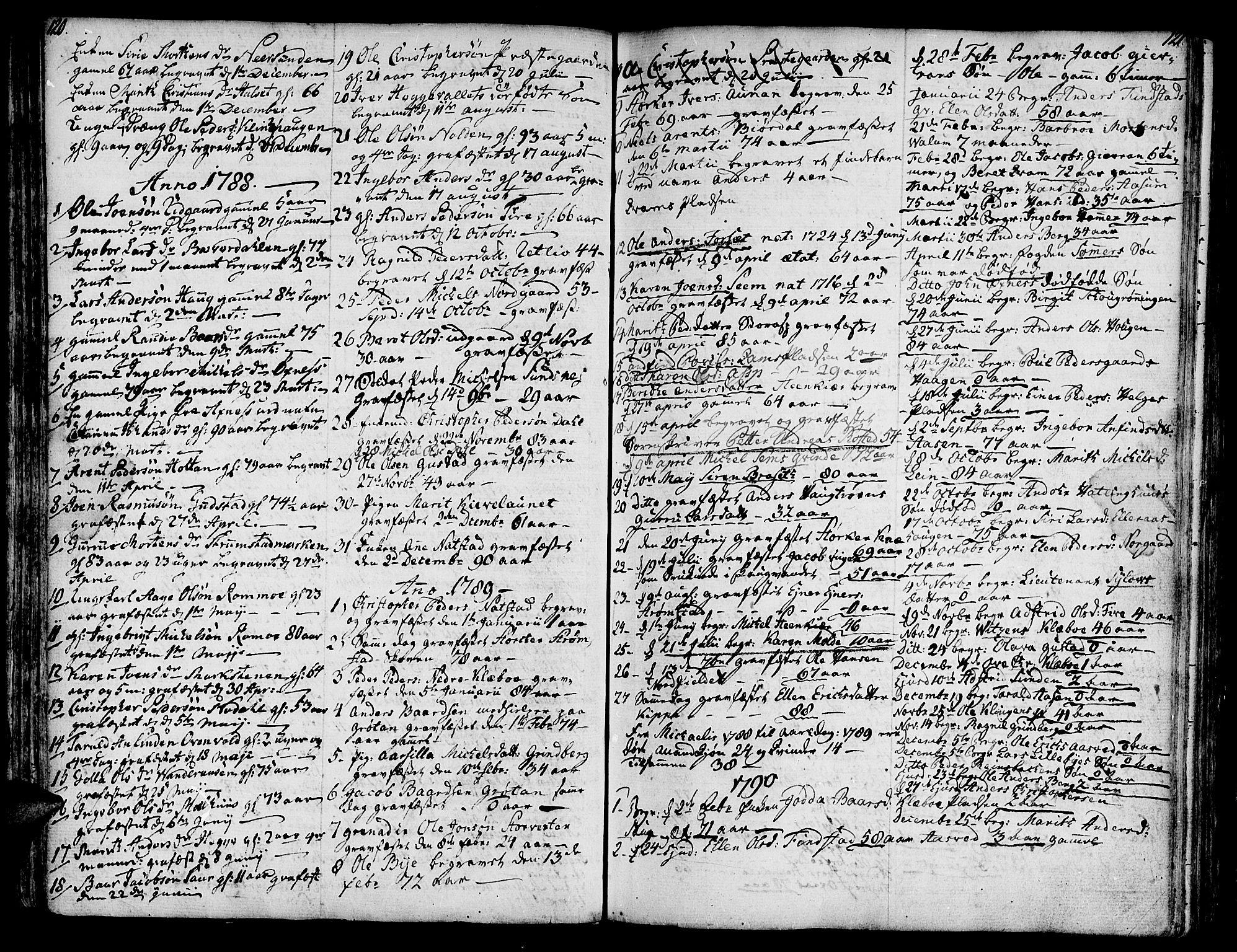 SAT, Ministerialprotokoller, klokkerbøker og fødselsregistre - Nord-Trøndelag, 746/L0440: Ministerialbok nr. 746A02, 1760-1815, s. 120-121