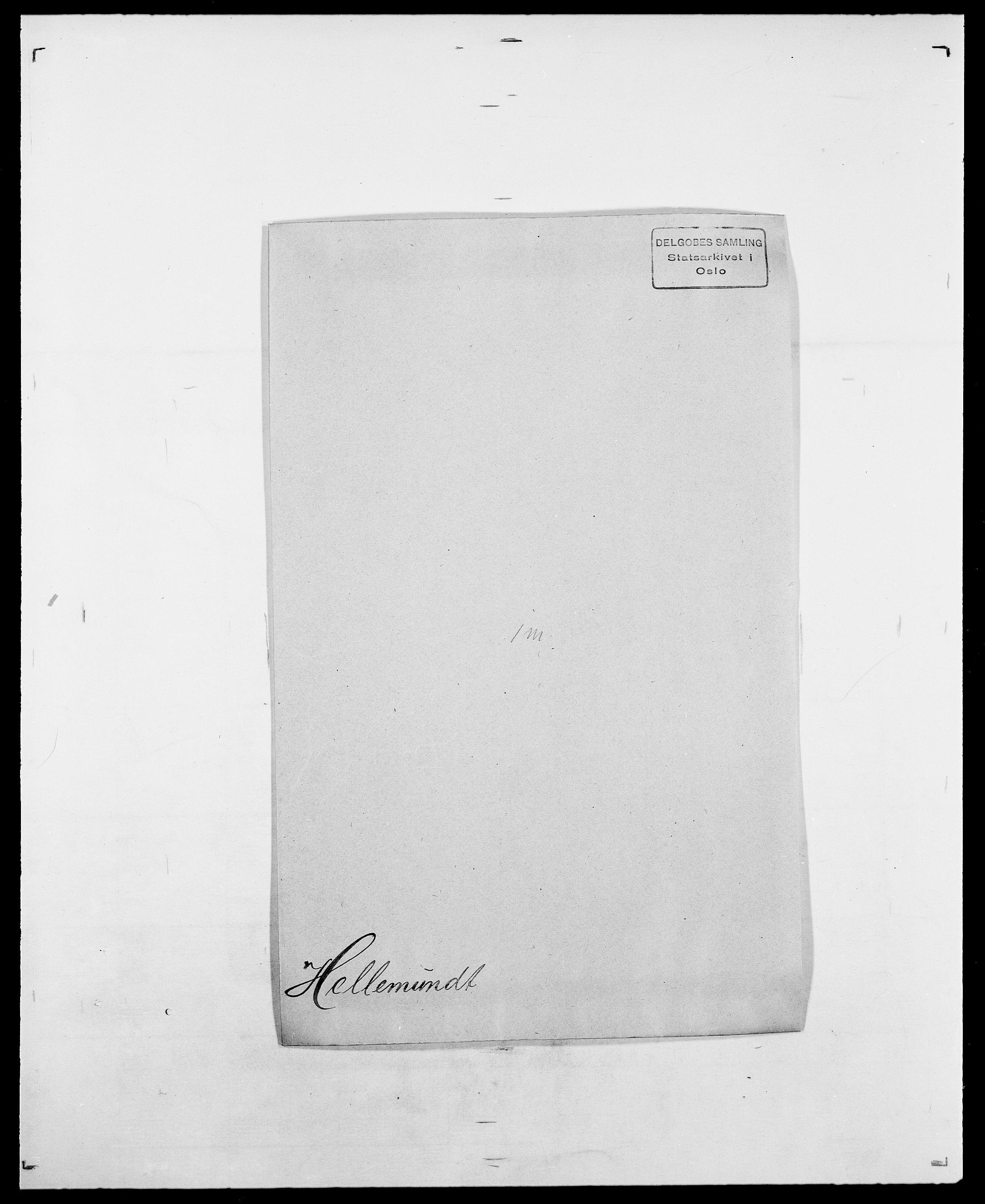 SAO, Delgobe, Charles Antoine - samling, D/Da/L0017: Helander - Hjørne, s. 61