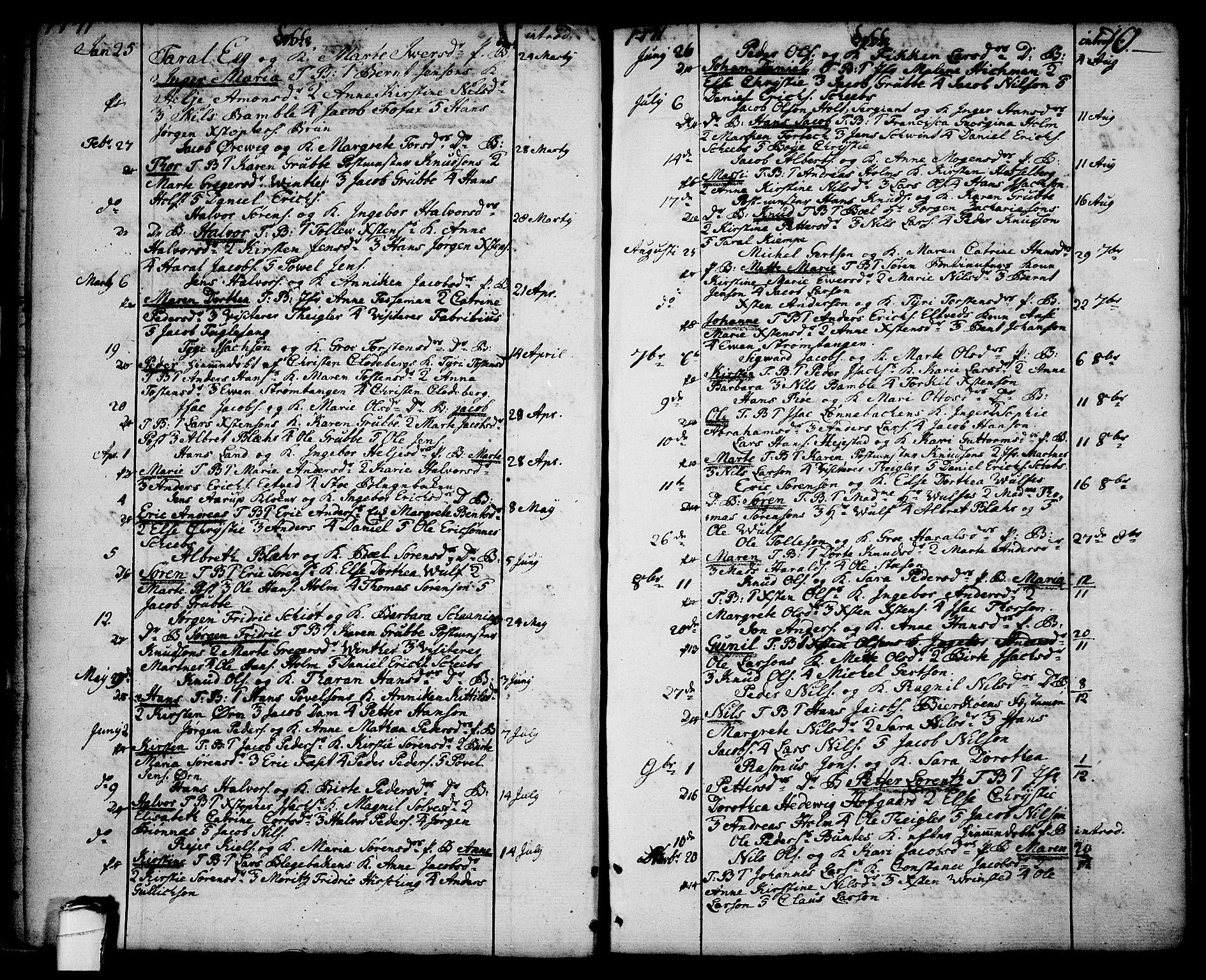 SAKO, Brevik kirkebøker, F/Fa/L0003: Ministerialbok nr. 3, 1764-1814, s. 10