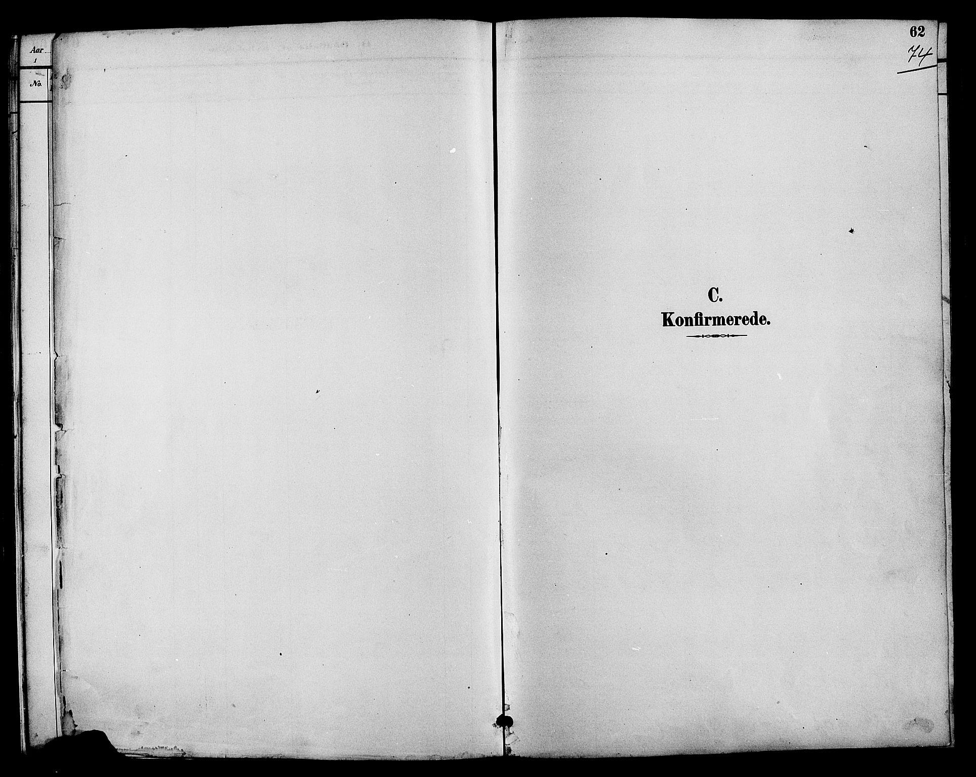 SAH, Nord-Aurdal prestekontor, Klokkerbok nr. 7, 1883-1910, s. 74