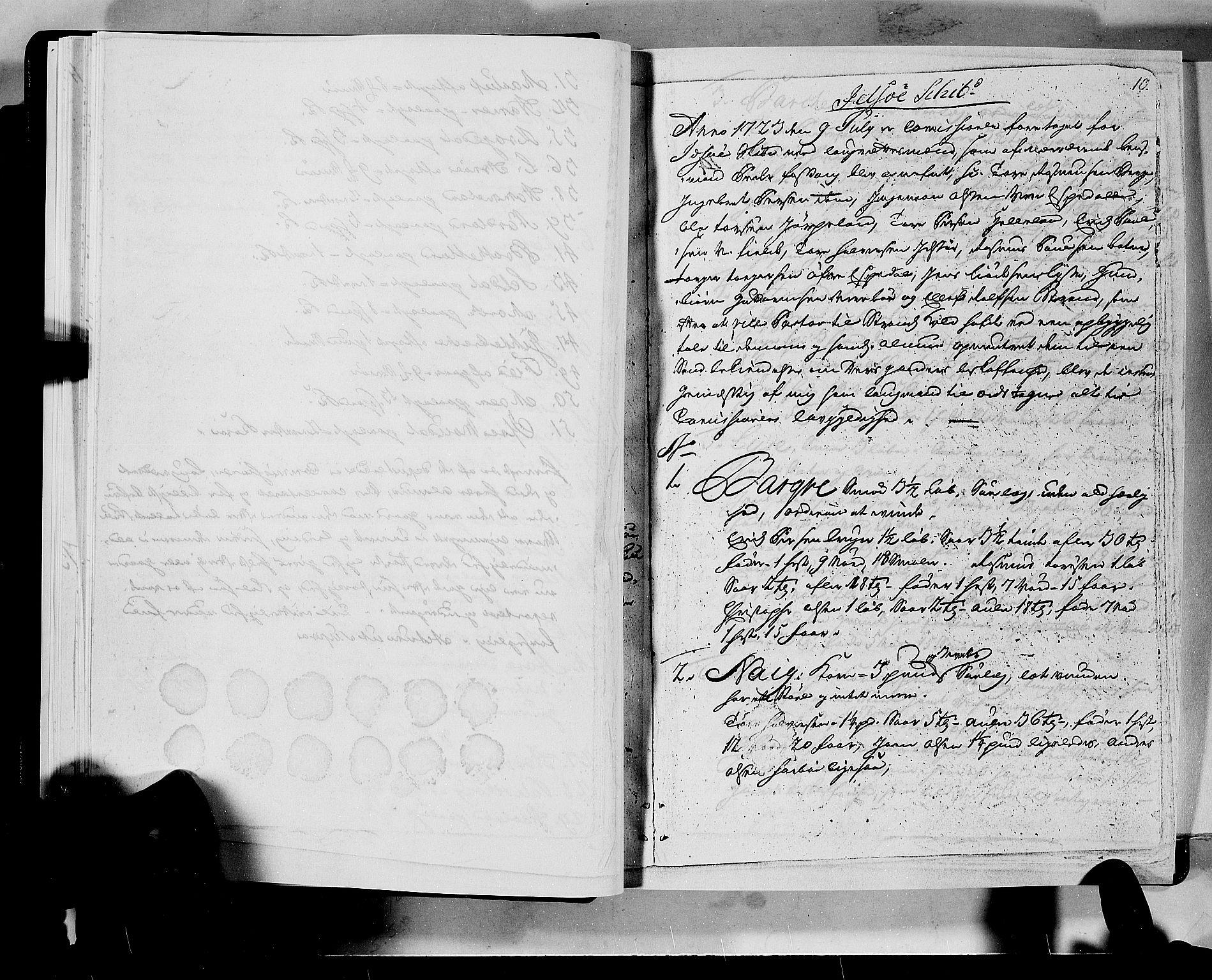 RA, Rentekammeret inntil 1814, Realistisk ordnet avdeling, N/Nb/Nbf/L0133a: Ryfylke eksaminasjonsprotokoll, 1723, s. 10a