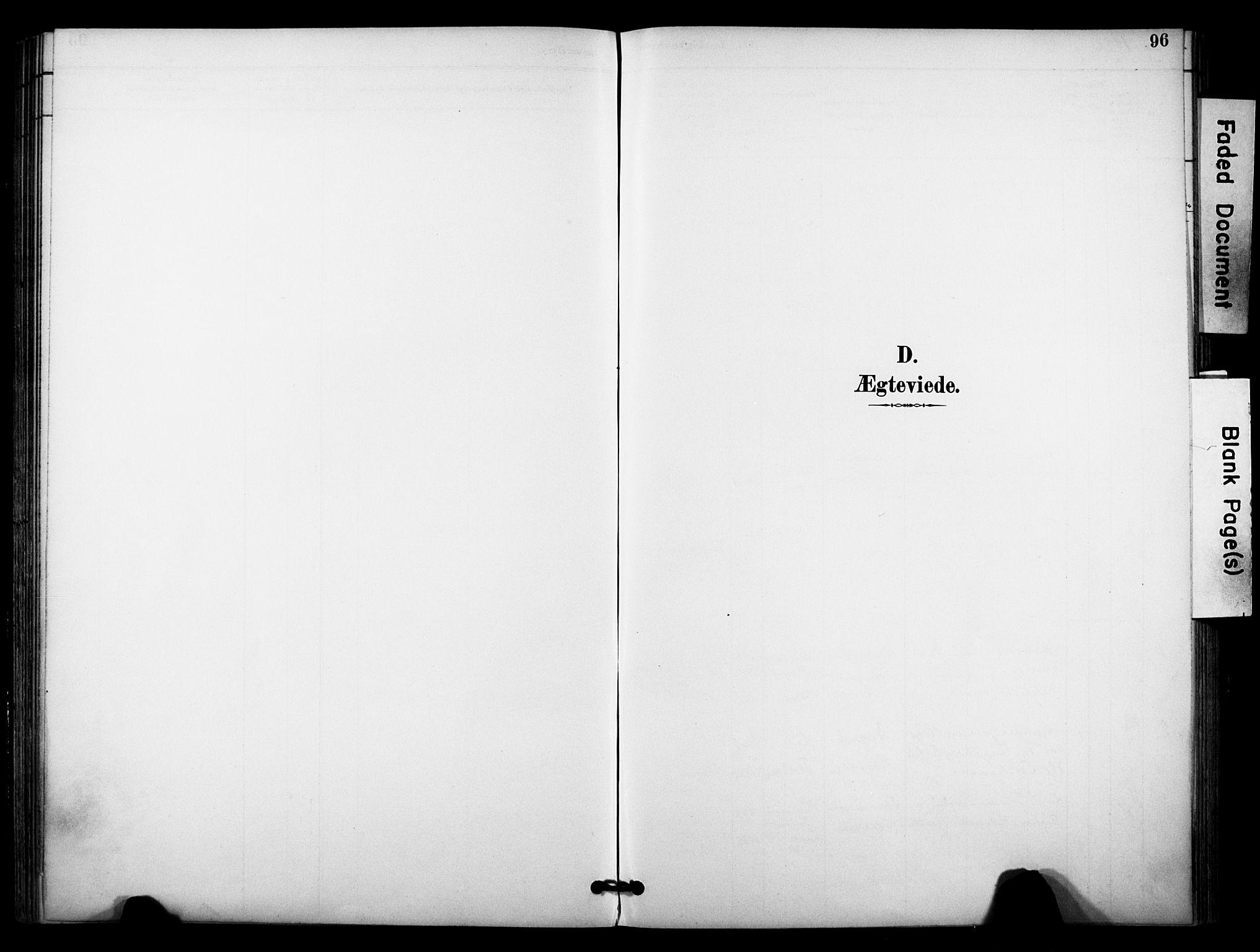 SAKO, Bø kirkebøker, F/Fa/L0011: Ministerialbok nr. 11, 1892-1900, s. 96