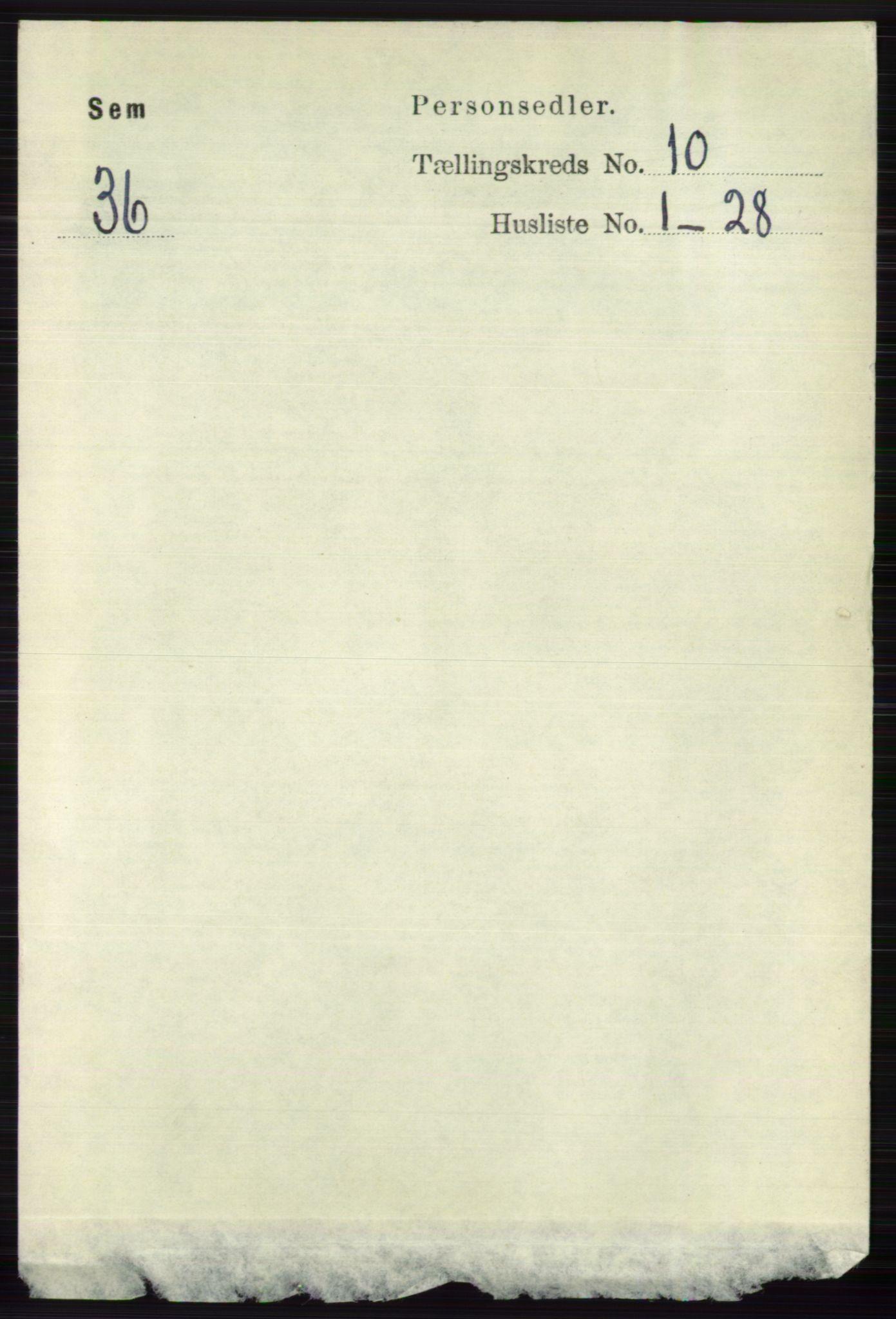 RA, Folketelling 1891 for 0721 Sem herred, 1891, s. 4798