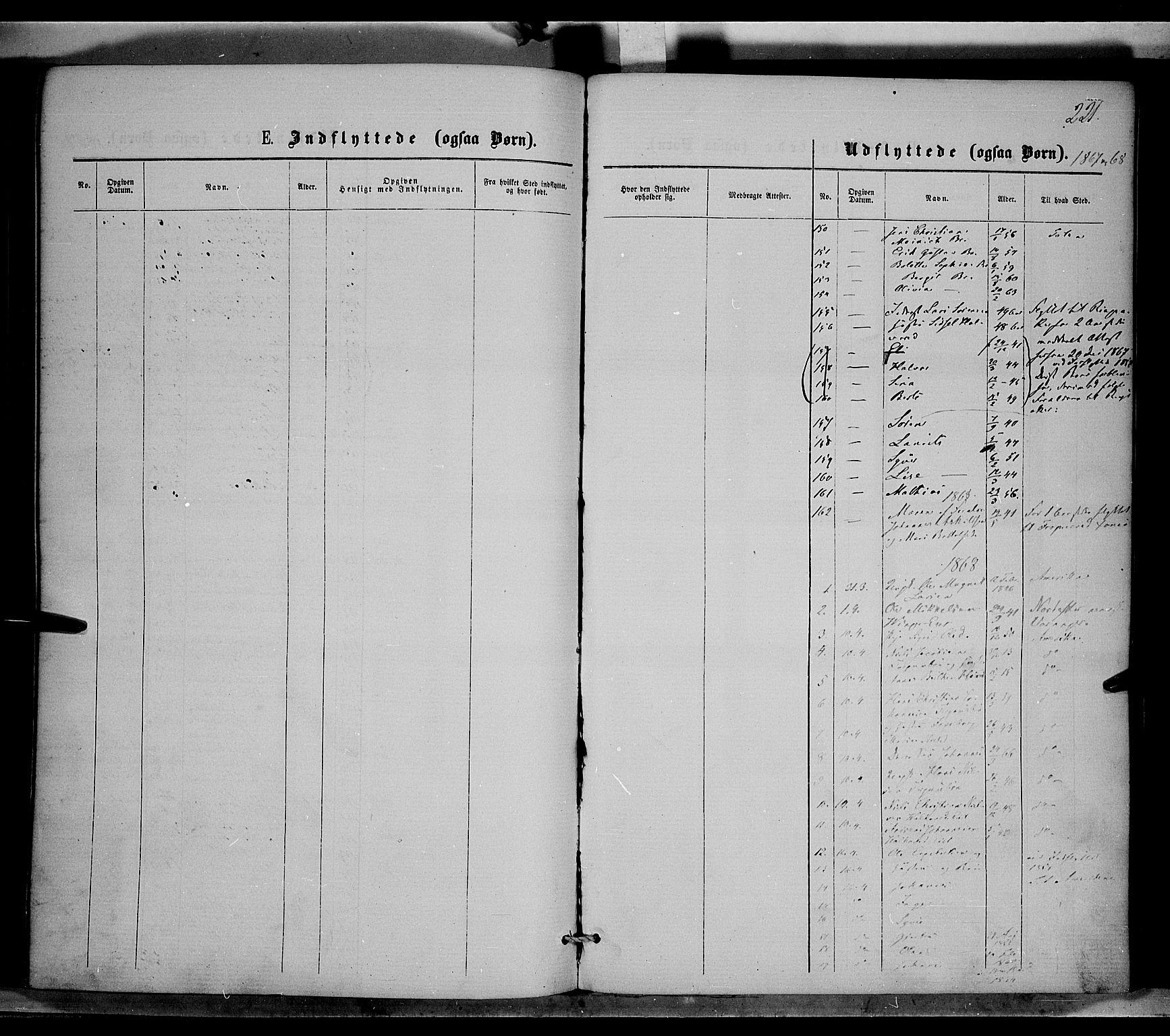SAH, Nordre Land prestekontor, Ministerialbok nr. 1, 1860-1871, s. 221