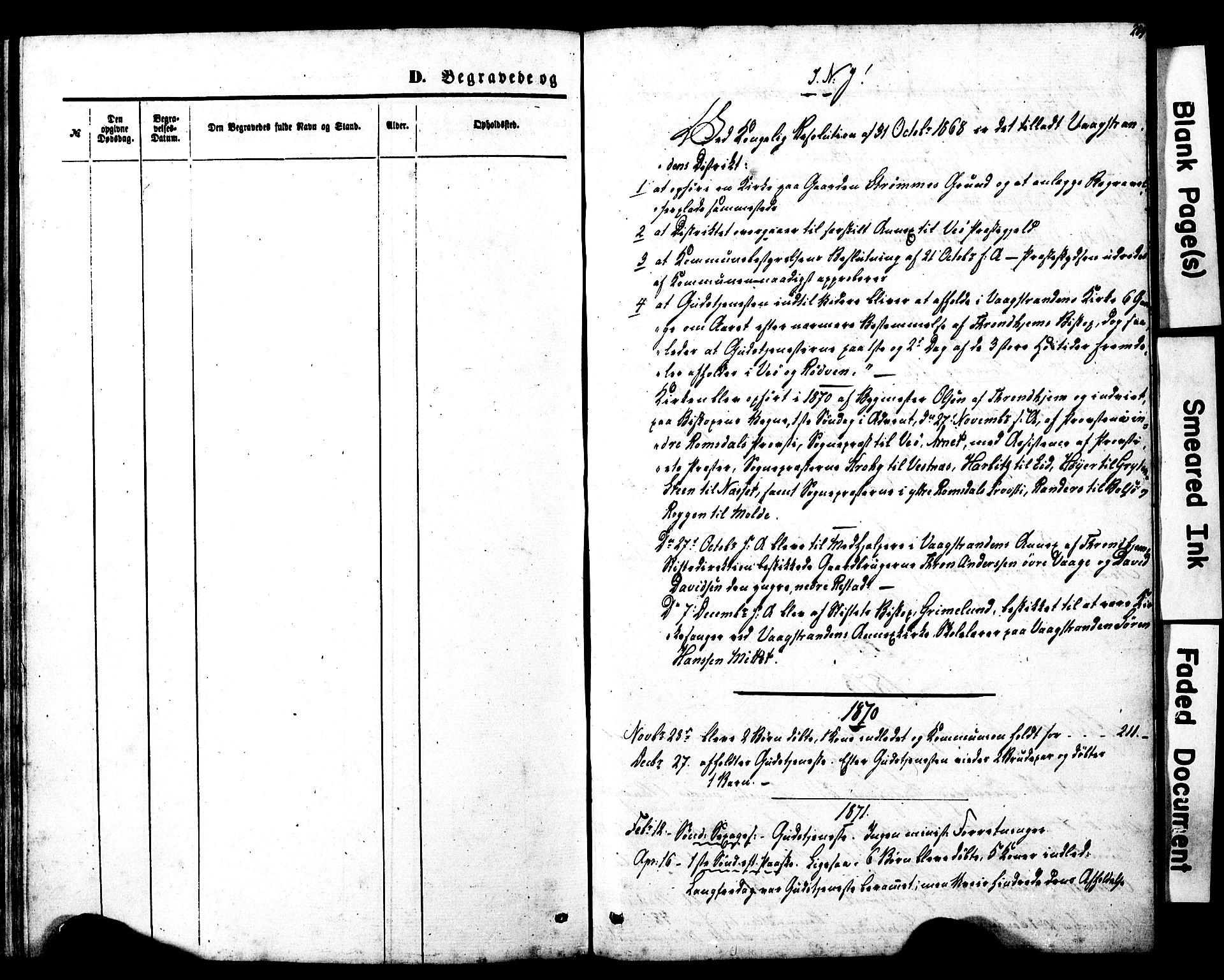 SAT, Ministerialprotokoller, klokkerbøker og fødselsregistre - Møre og Romsdal, 550/L0618: Klokkerbok nr. 550C01, 1870-1927, s. 289