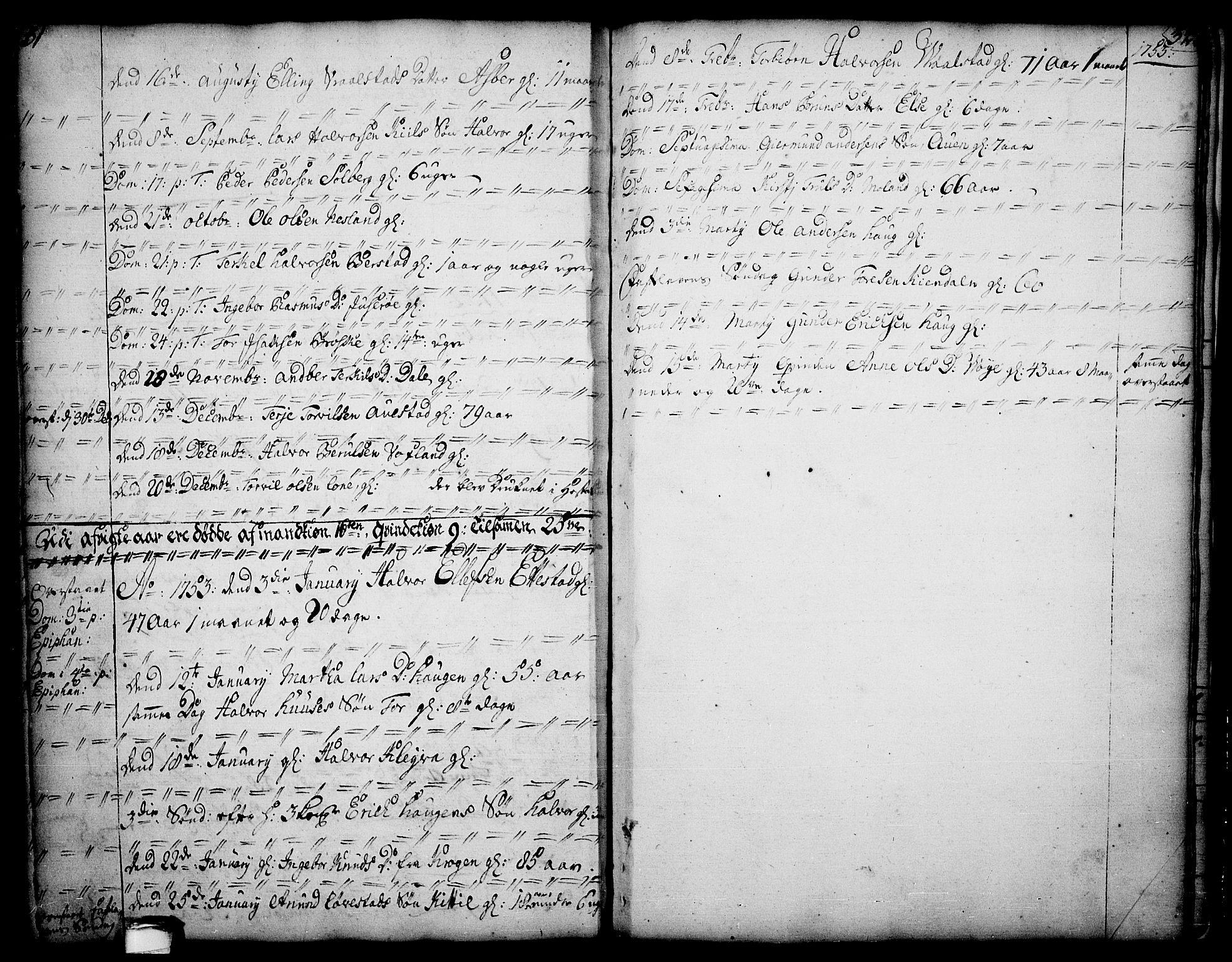SAKO, Drangedal kirkebøker, F/Fa/L0002: Ministerialbok nr. 2, 1733-1753, s. 31-32