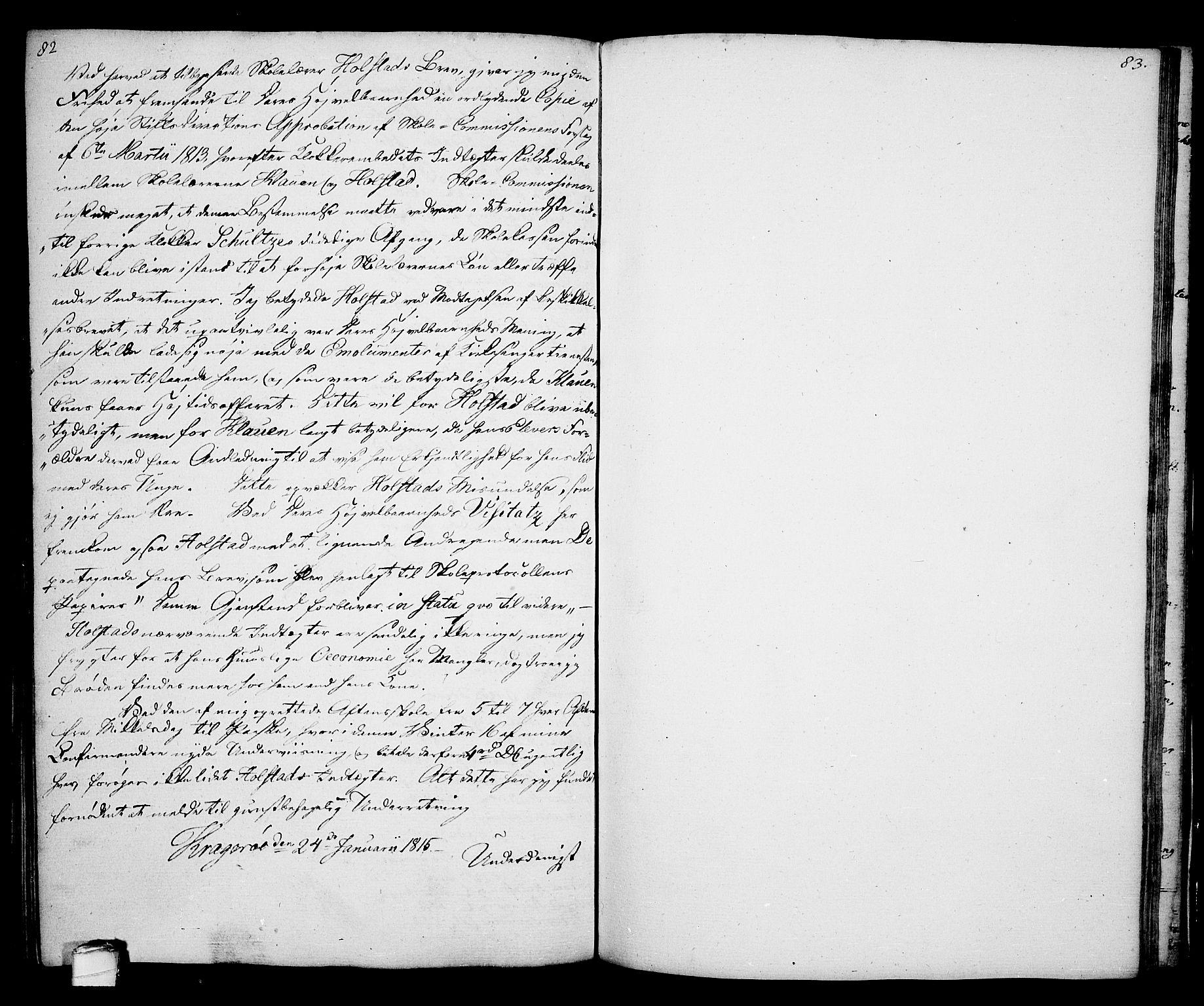 SAKO, Kragerø kirkebøker, G/Ga/L0001: Klokkerbok nr. 1 /2, 1806-1811, s. 82-83