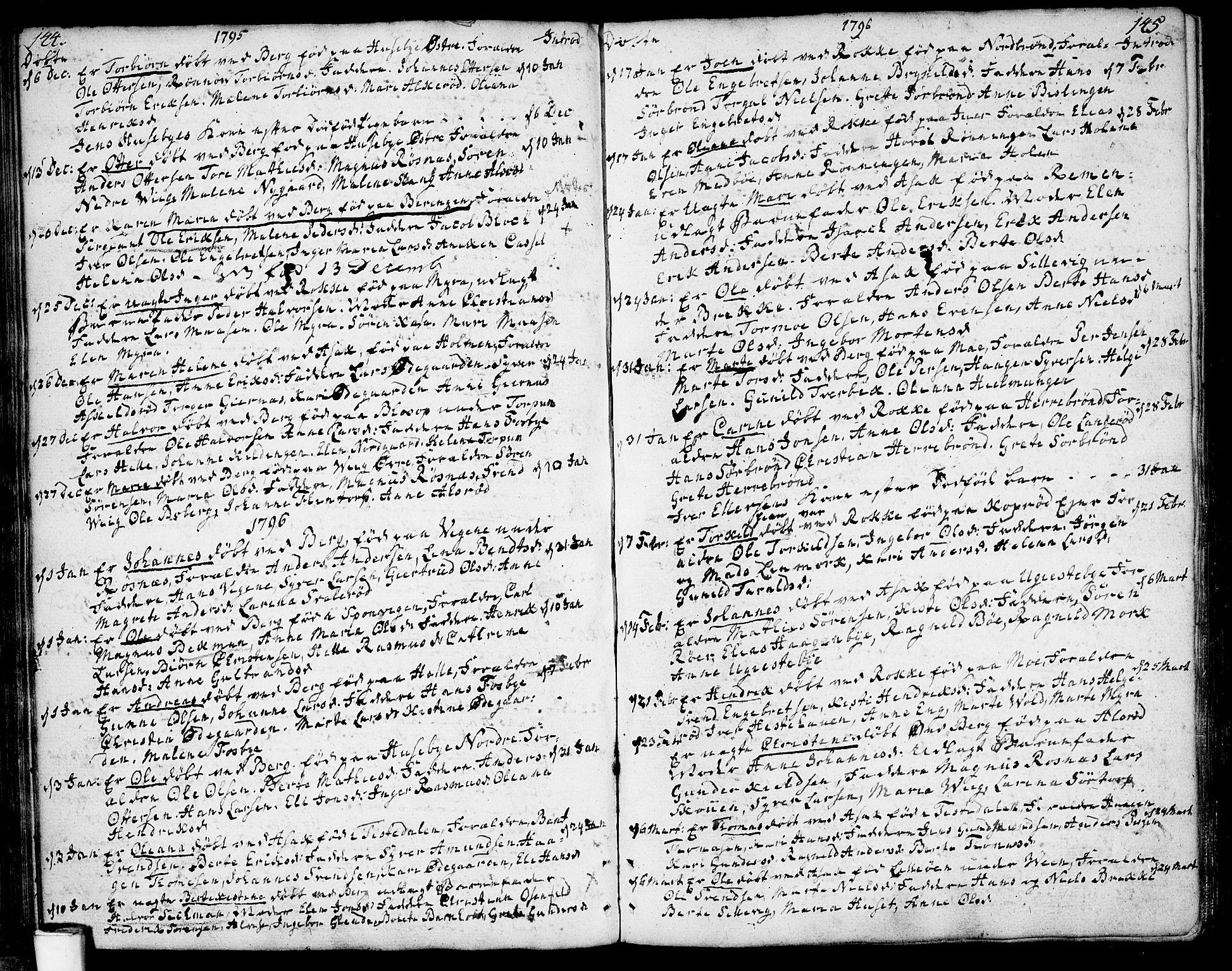SAO, Berg prestekontor Kirkebøker, F/Fa/L0001: Ministerialbok nr. I 1, 1770-1814, s. 144-145