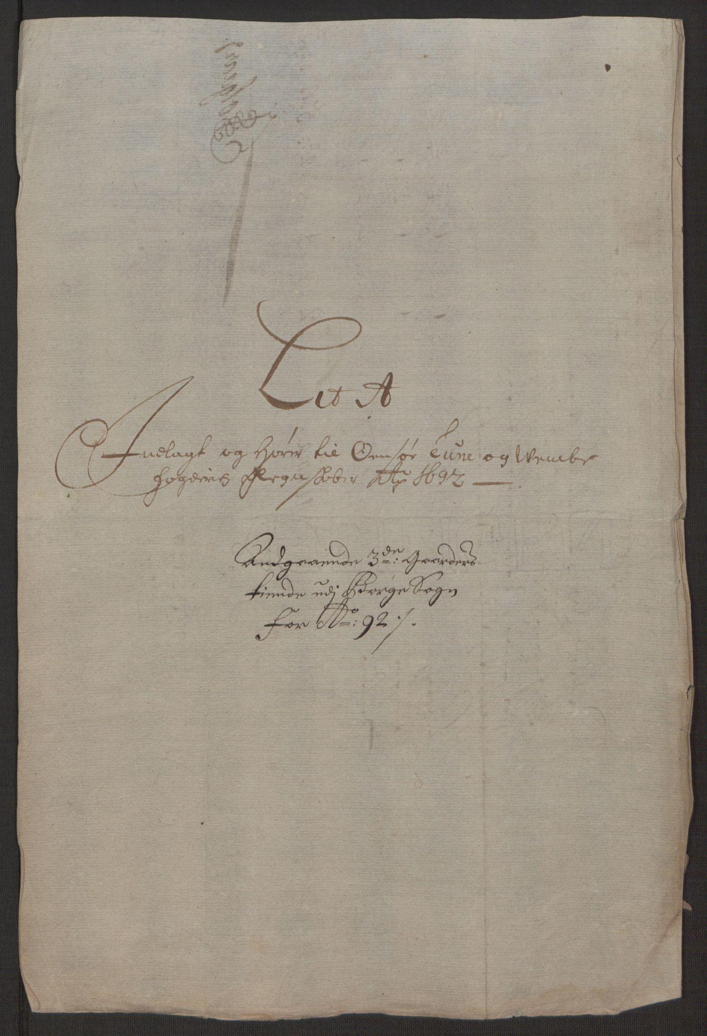 RA, Rentekammeret inntil 1814, Reviderte regnskaper, Fogderegnskap, R03/L0120: Fogderegnskap Onsøy, Tune, Veme og Åbygge fogderi, 1692-1693, s. 18