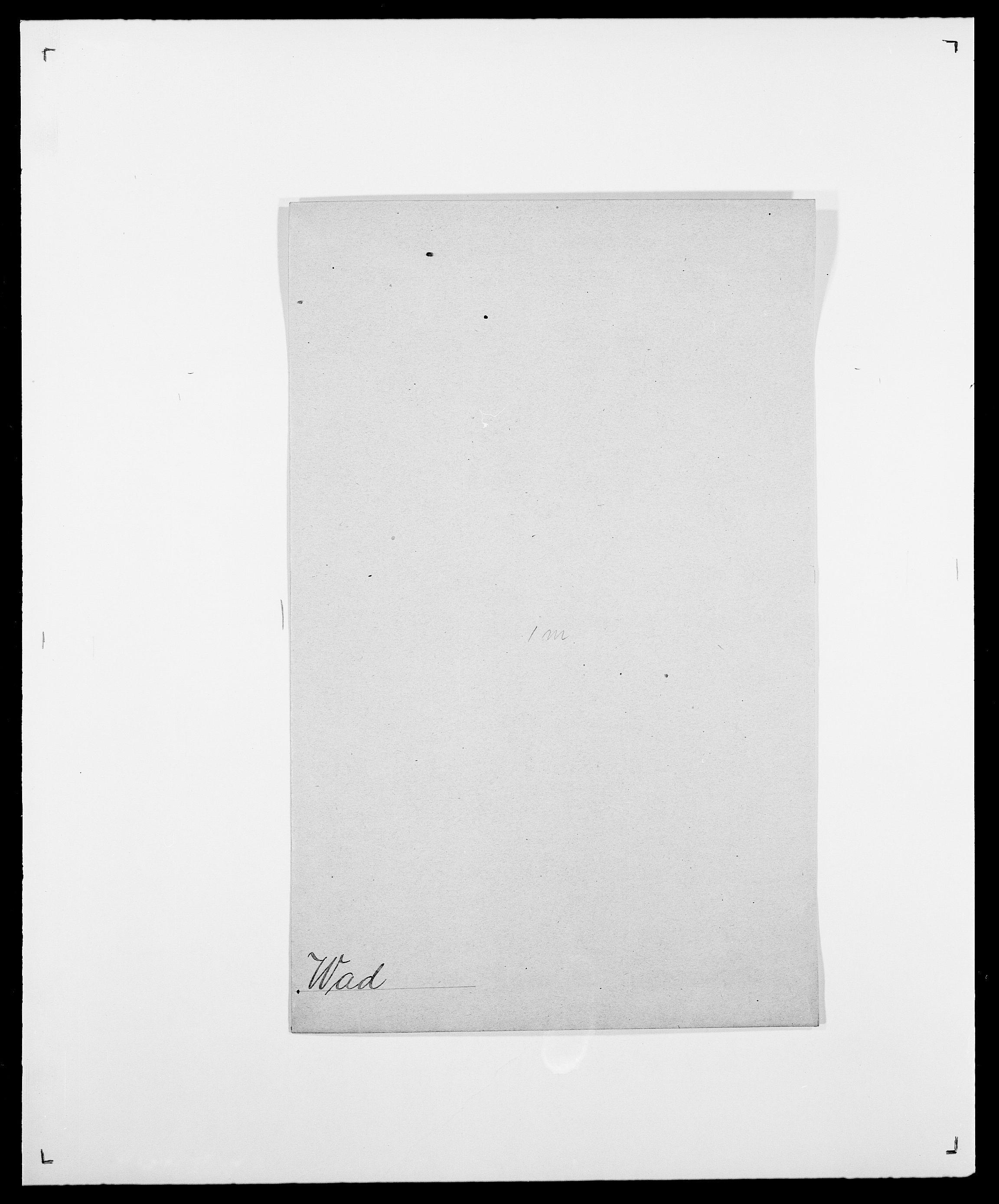 SAO, Delgobe, Charles Antoine - samling, D/Da/L0040: Usgaard - Velund, s. 73