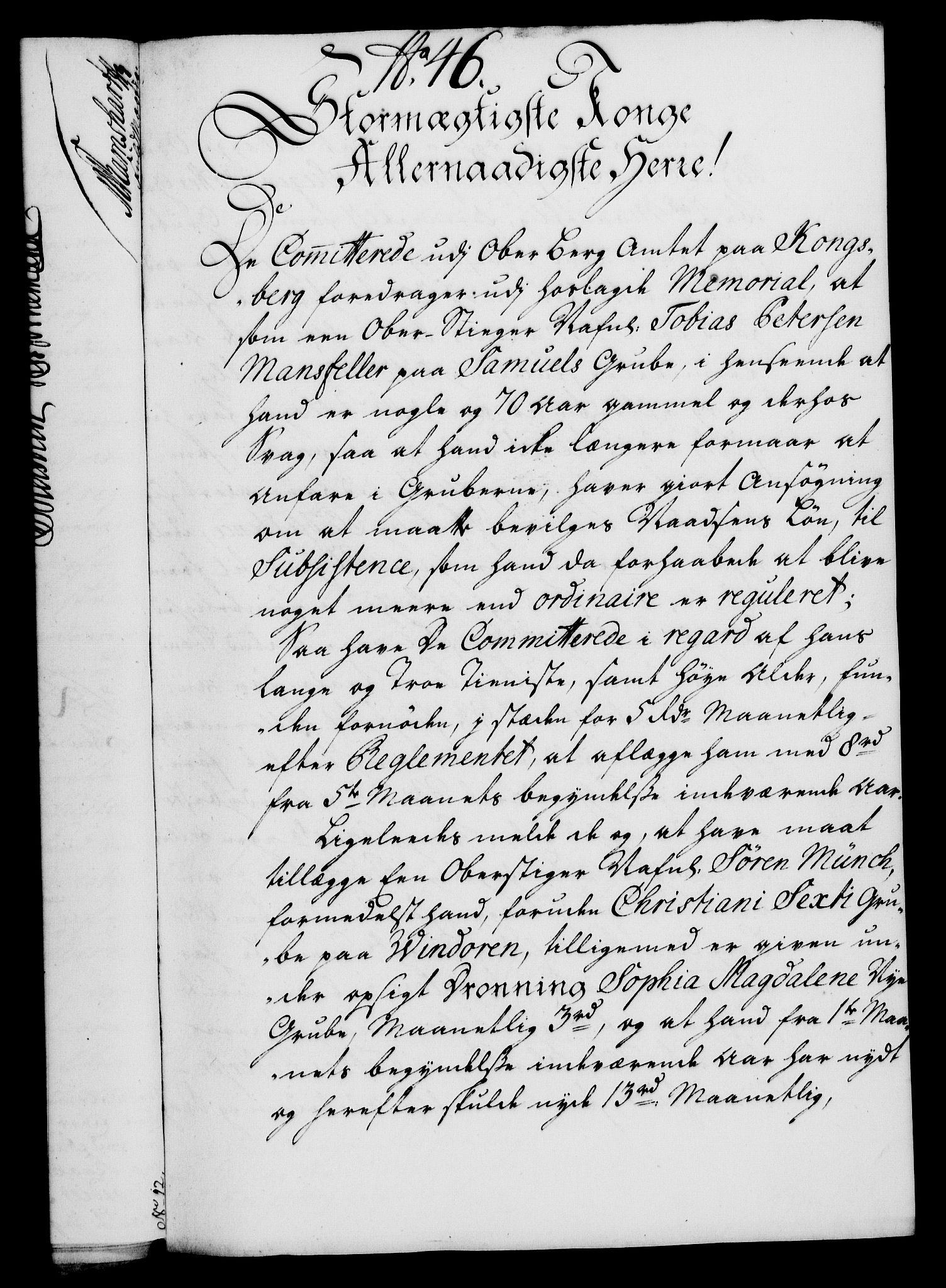 RA, Rentekammeret, Kammerkanselliet, G/Gf/Gfa/L0019: Norsk relasjons- og resolusjonsprotokoll (merket RK 52.19), 1736, s. 309