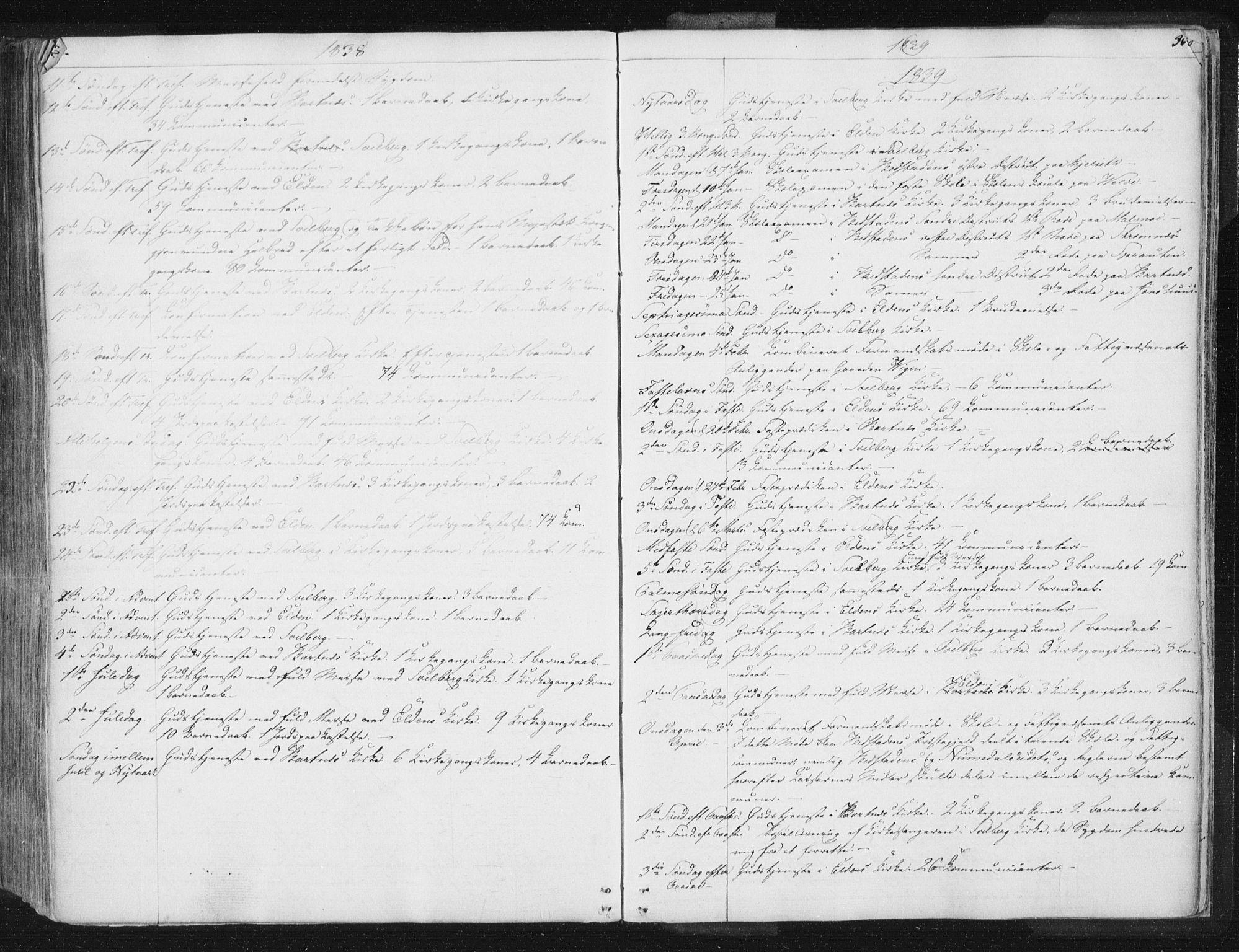 SAT, Ministerialprotokoller, klokkerbøker og fødselsregistre - Nord-Trøndelag, 741/L0392: Ministerialbok nr. 741A06, 1836-1848, s. 363