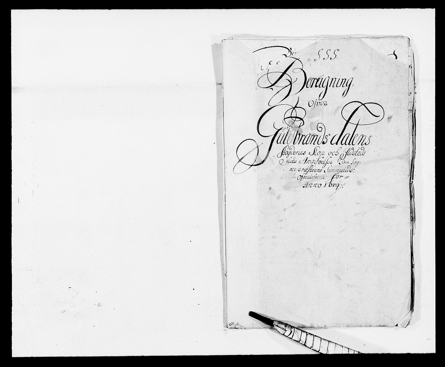 RA, Rentekammeret inntil 1814, Reviderte regnskaper, Fogderegnskap, R17/L1164: Fogderegnskap Gudbrandsdal, 1682-1689, s. 153