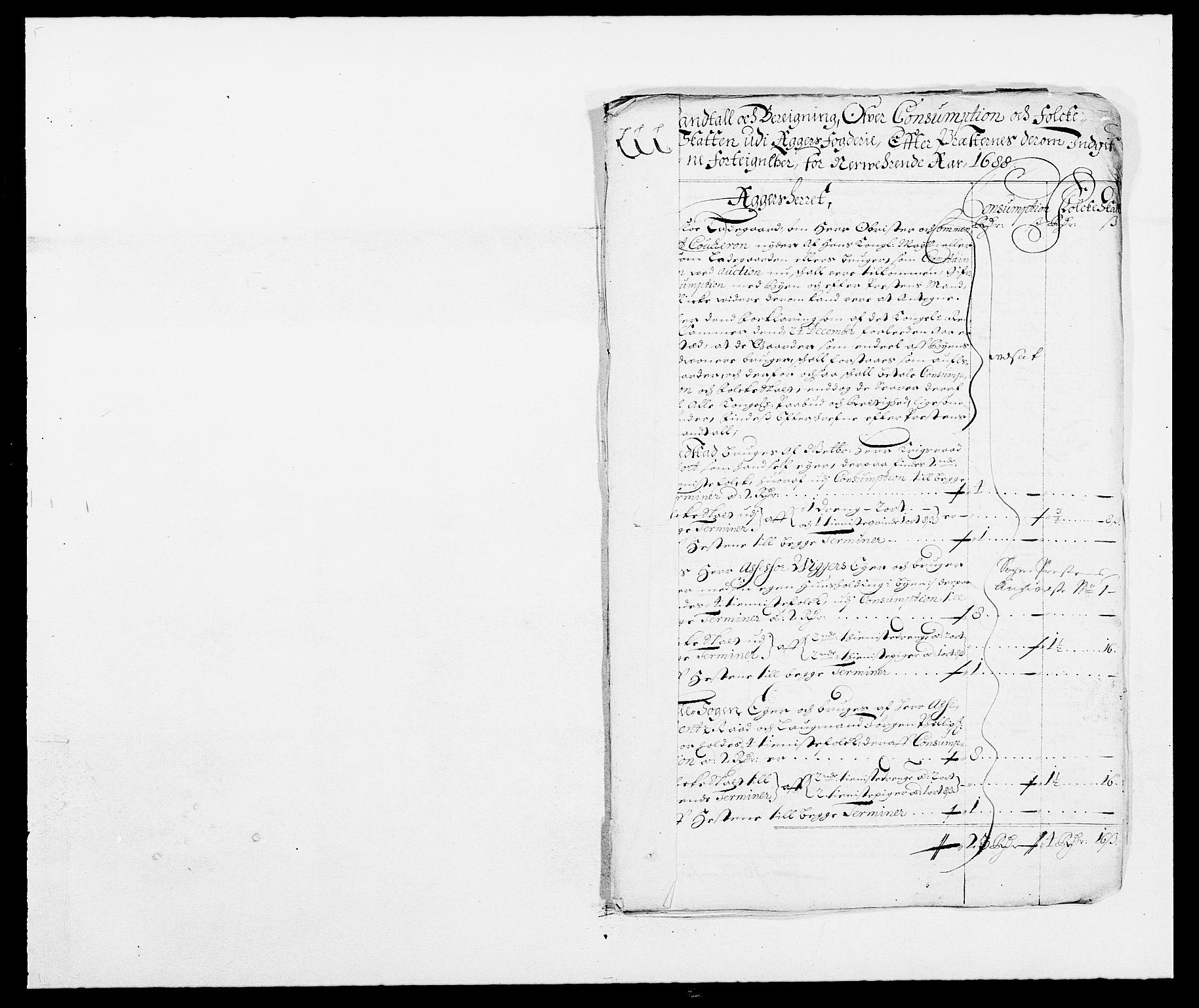 RA, Rentekammeret inntil 1814, Reviderte regnskaper, Fogderegnskap, R08/L0422: Fogderegnskap Aker, 1684-1686, s. 351