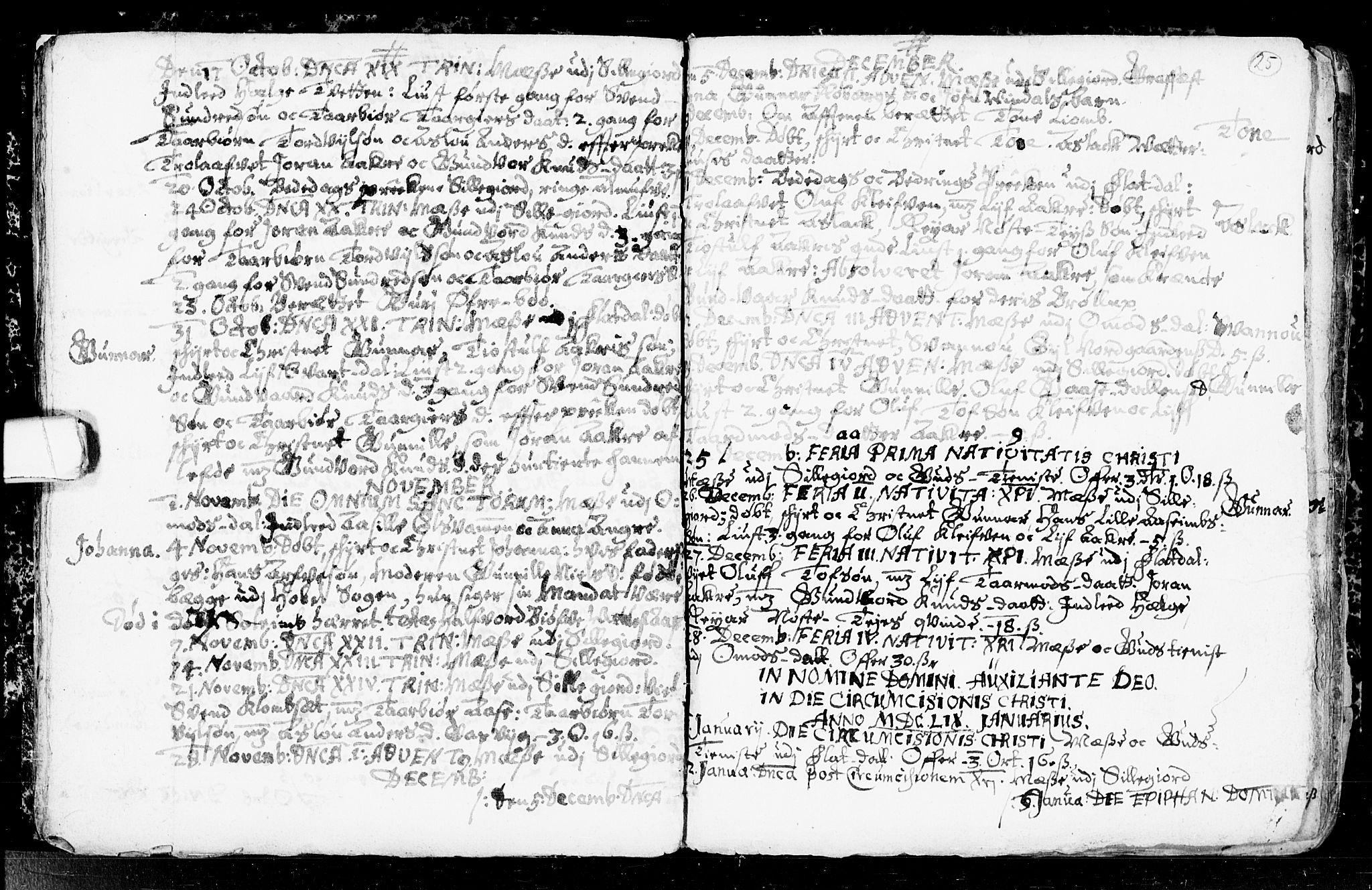 SAKO, Seljord kirkebøker, F/Fa/L0001: Ministerialbok nr. I 1, 1654-1686, s. 25
