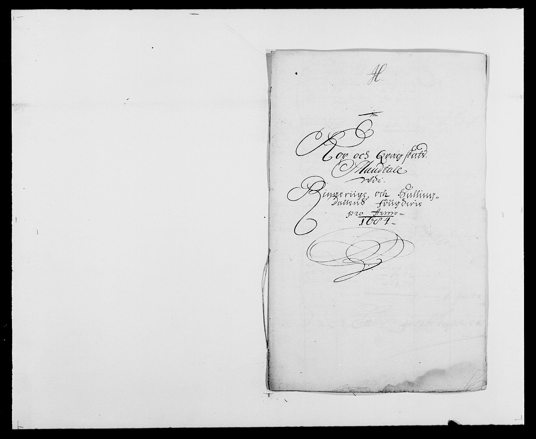 RA, Rentekammeret inntil 1814, Reviderte regnskaper, Fogderegnskap, R21/L1446: Fogderegnskap Ringerike og Hallingdal, 1683-1686, s. 260