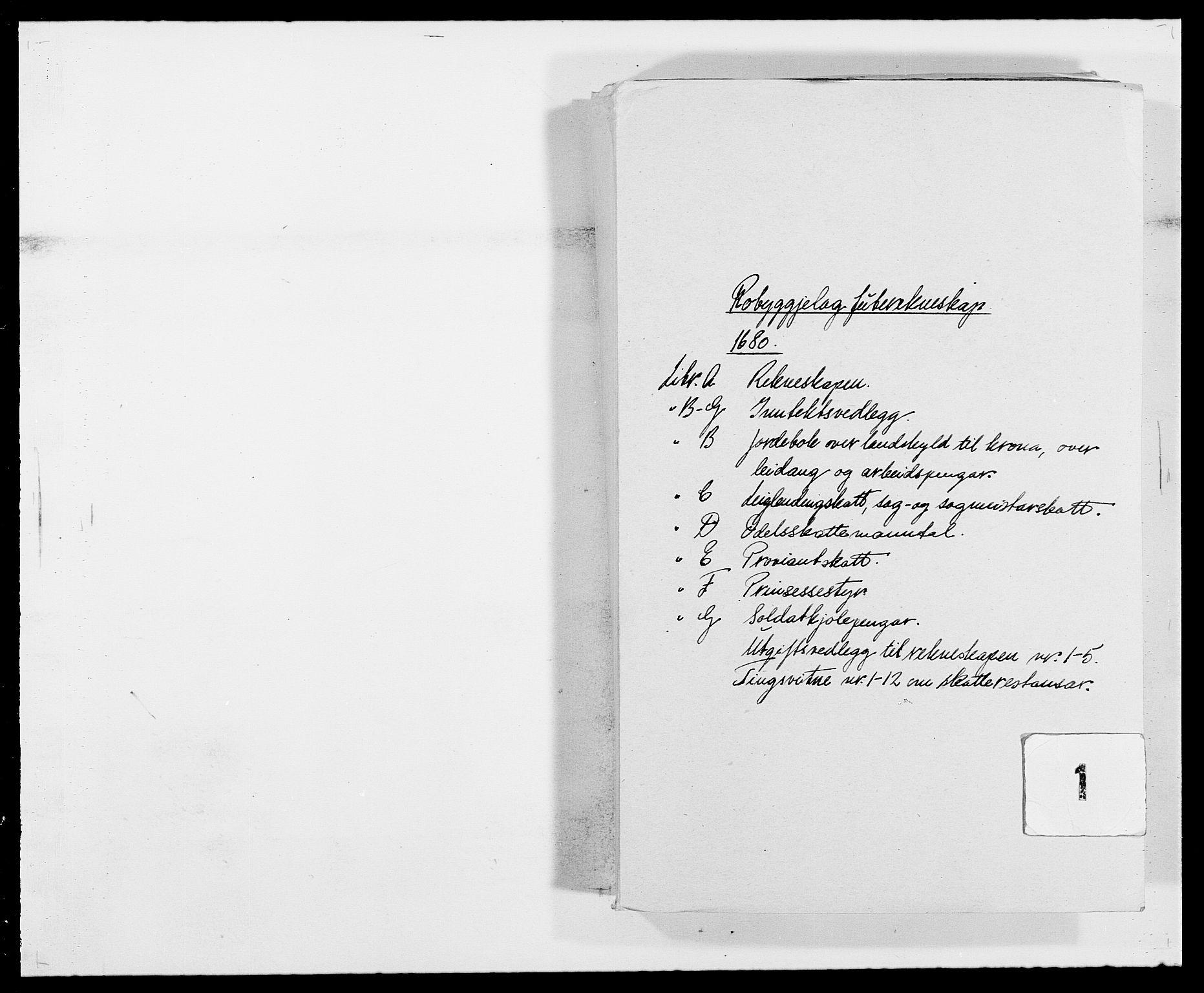 RA, Rentekammeret inntil 1814, Reviderte regnskaper, Fogderegnskap, R40/L2436: Fogderegnskap Råbyggelag, 1679-1680, s. 204