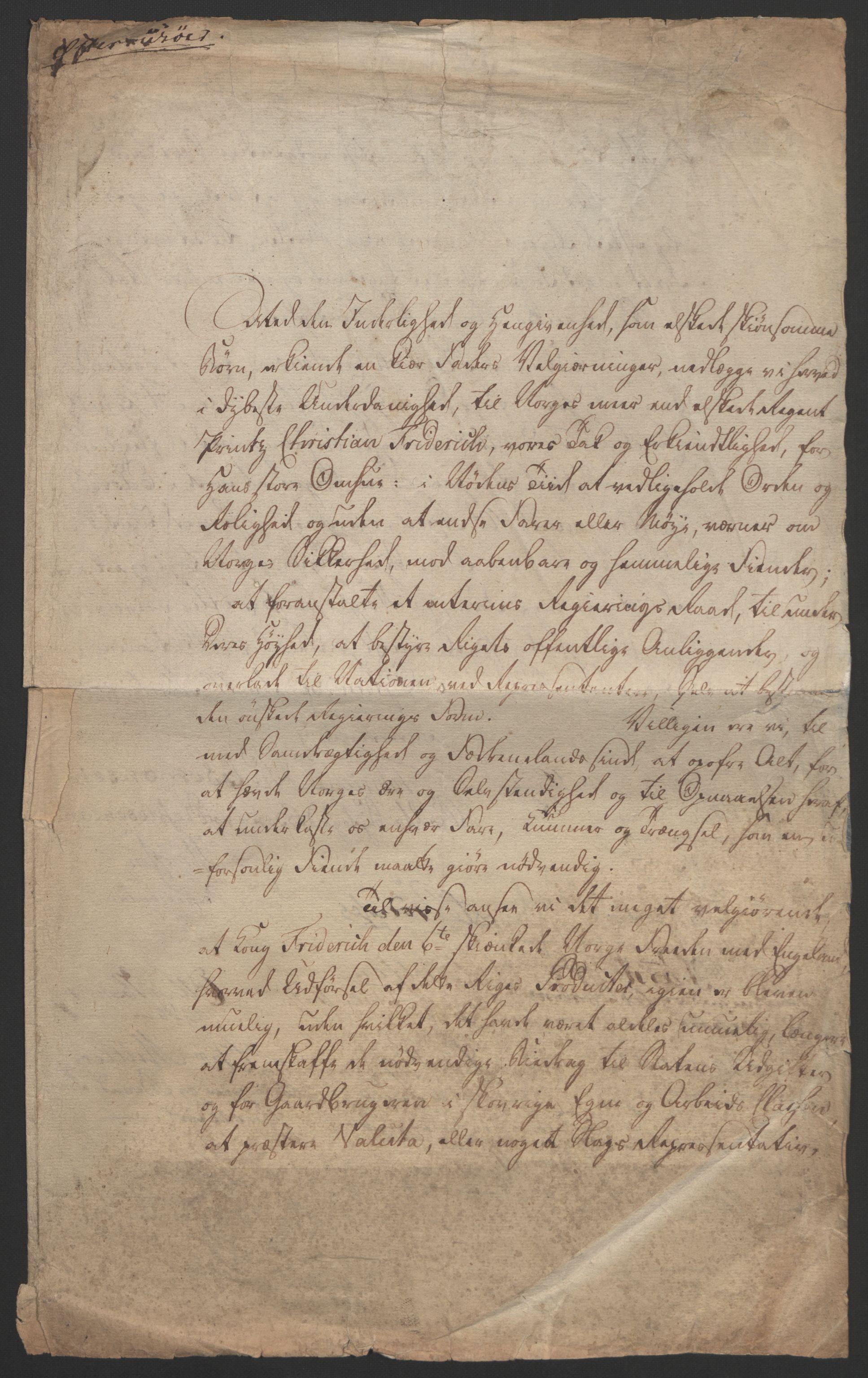 RA, Statsrådssekretariatet, D/Db/L0007: Fullmakter for Eidsvollsrepresentantene i 1814. , 1814, s. 41