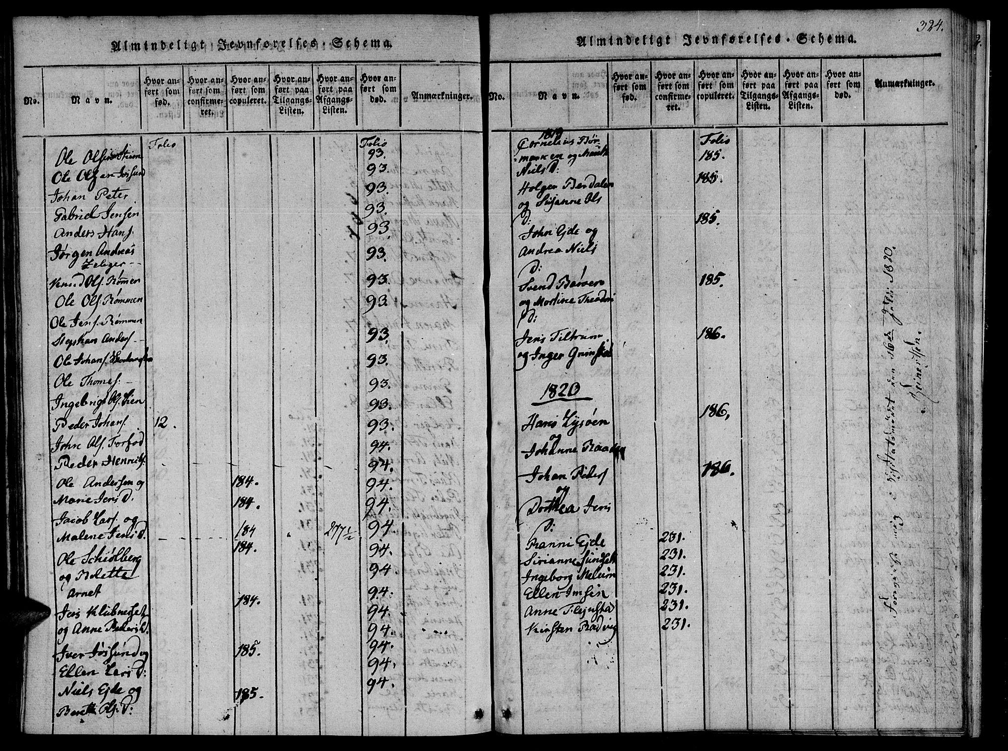 SAT, Ministerialprotokoller, klokkerbøker og fødselsregistre - Sør-Trøndelag, 655/L0675: Ministerialbok nr. 655A04, 1818-1830, s. 324