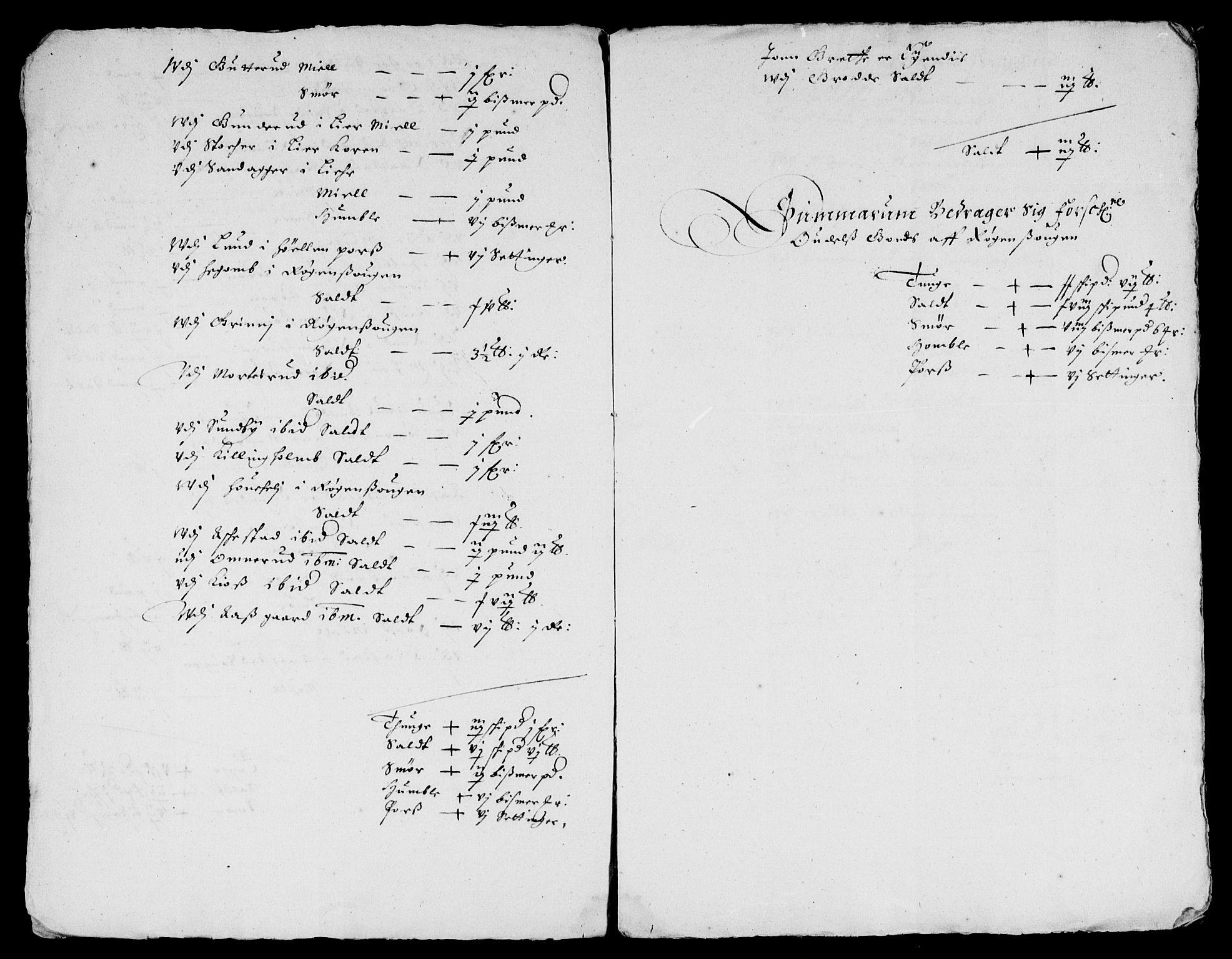 RA, Rentekammeret inntil 1814, Reviderte regnskaper, Lensregnskaper, R/Rb/Rba/L0212: Akershus len, 1652-1653, s. upaginert
