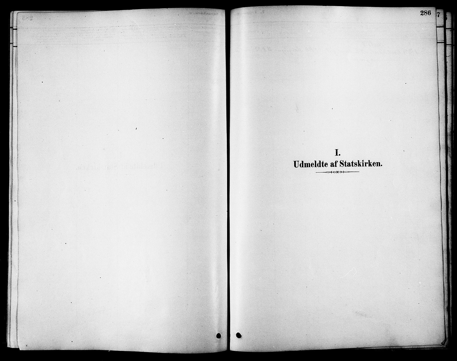 SAT, Ministerialprotokoller, klokkerbøker og fødselsregistre - Sør-Trøndelag, 616/L0423: Klokkerbok nr. 616C06, 1878-1903, s. 286