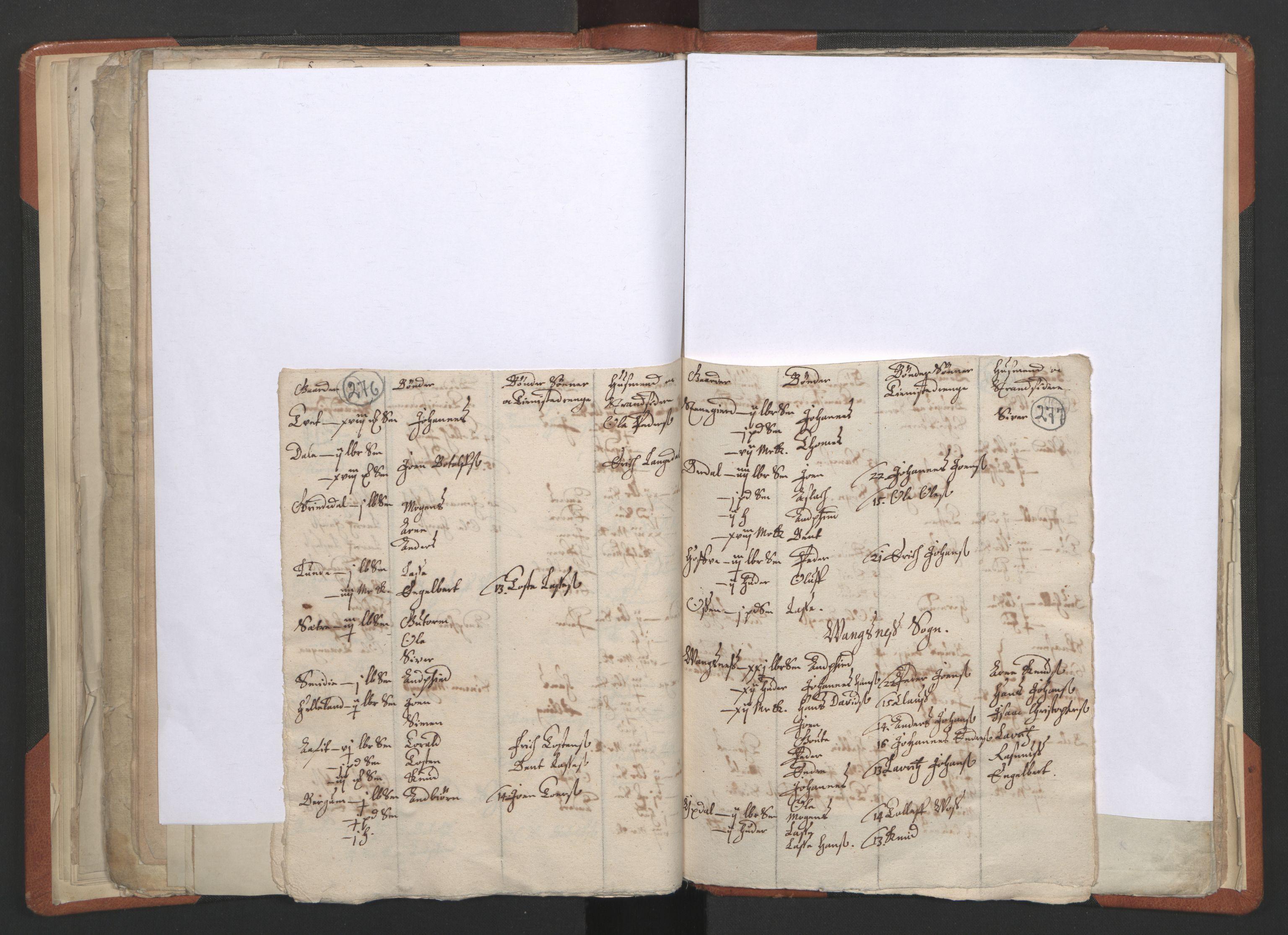 RA, Sogneprestenes manntall 1664-1666, nr. 23: Sogn prosti, 1664-1666, s. 276-277