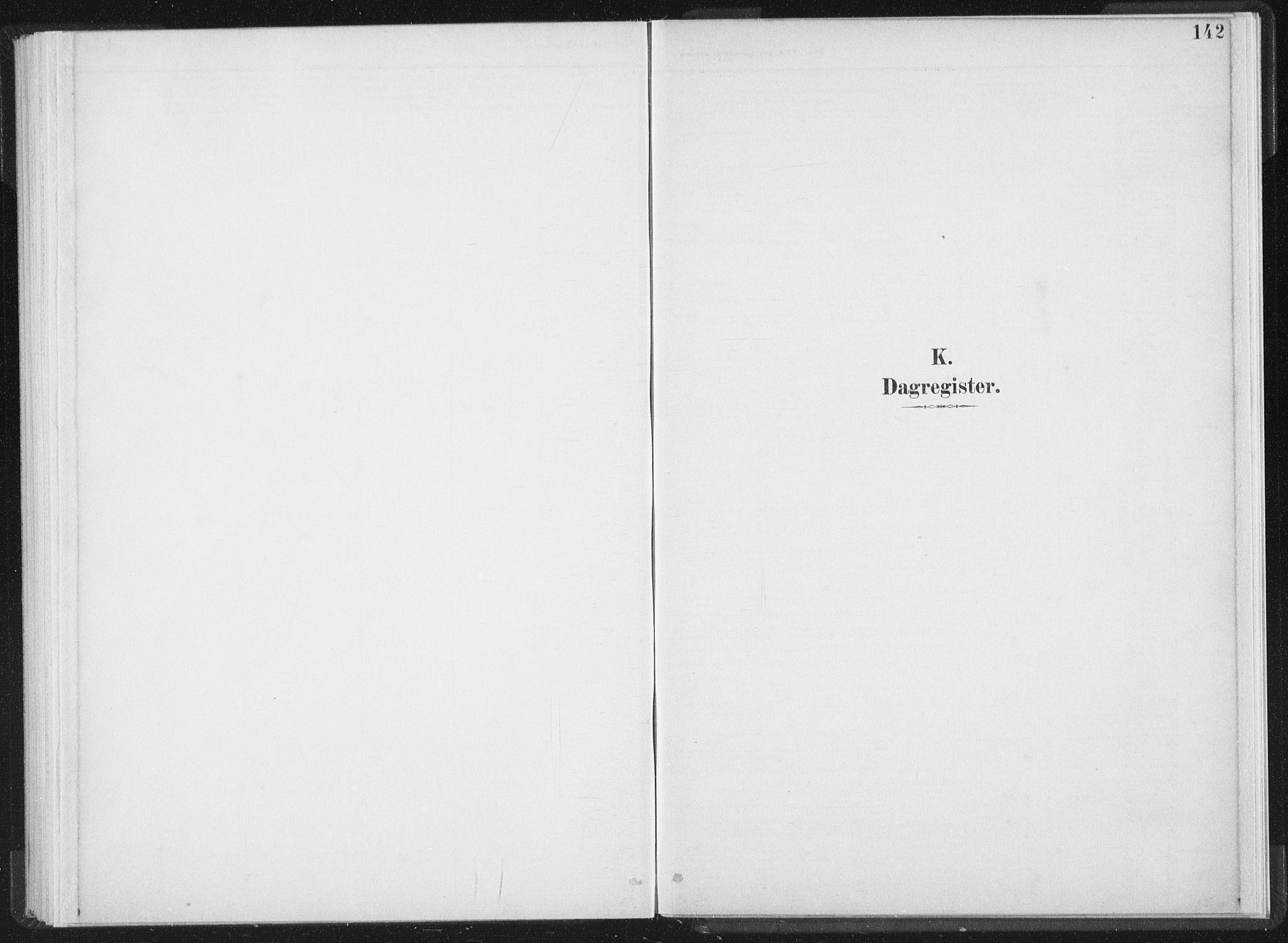 SAT, Ministerialprotokoller, klokkerbøker og fødselsregistre - Nord-Trøndelag, 724/L0263: Ministerialbok nr. 724A01, 1891-1907, s. 142