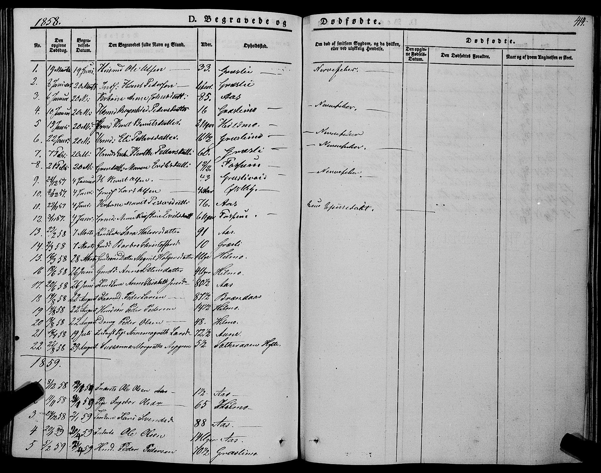 SAT, Ministerialprotokoller, klokkerbøker og fødselsregistre - Sør-Trøndelag, 695/L1146: Ministerialbok nr. 695A06 /2, 1843-1859, s. 414