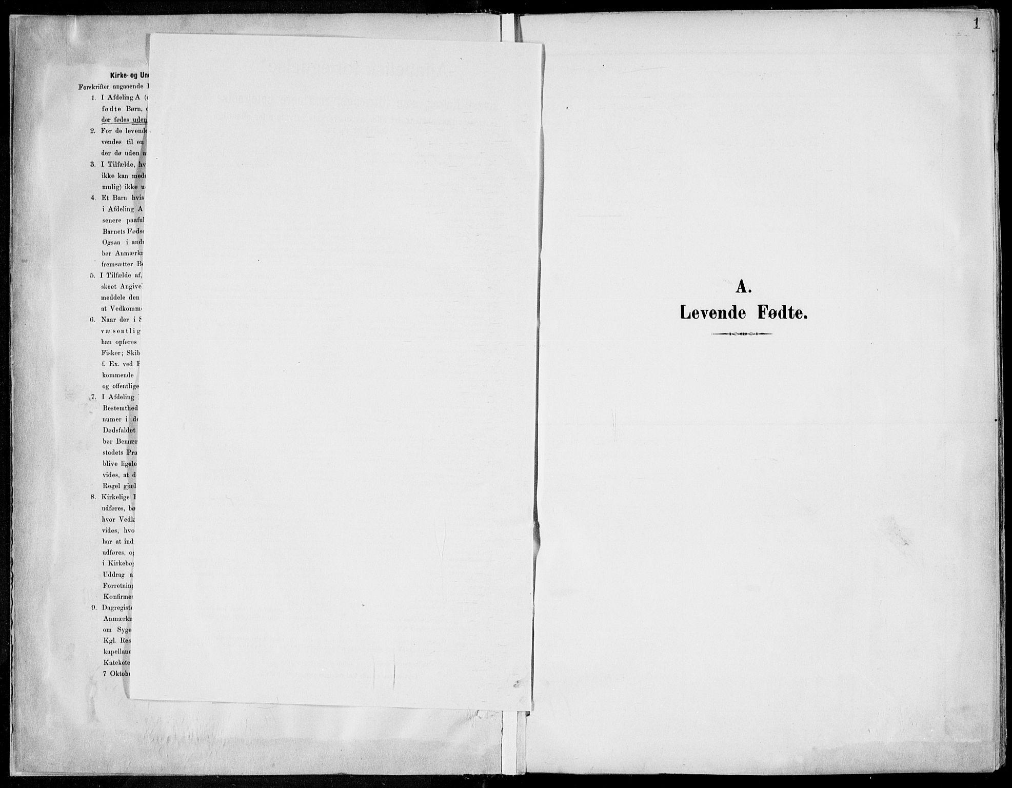 SAKO, Porsgrunn kirkebøker , F/Fa/L0010: Ministerialbok nr. 10, 1895-1919, s. 1