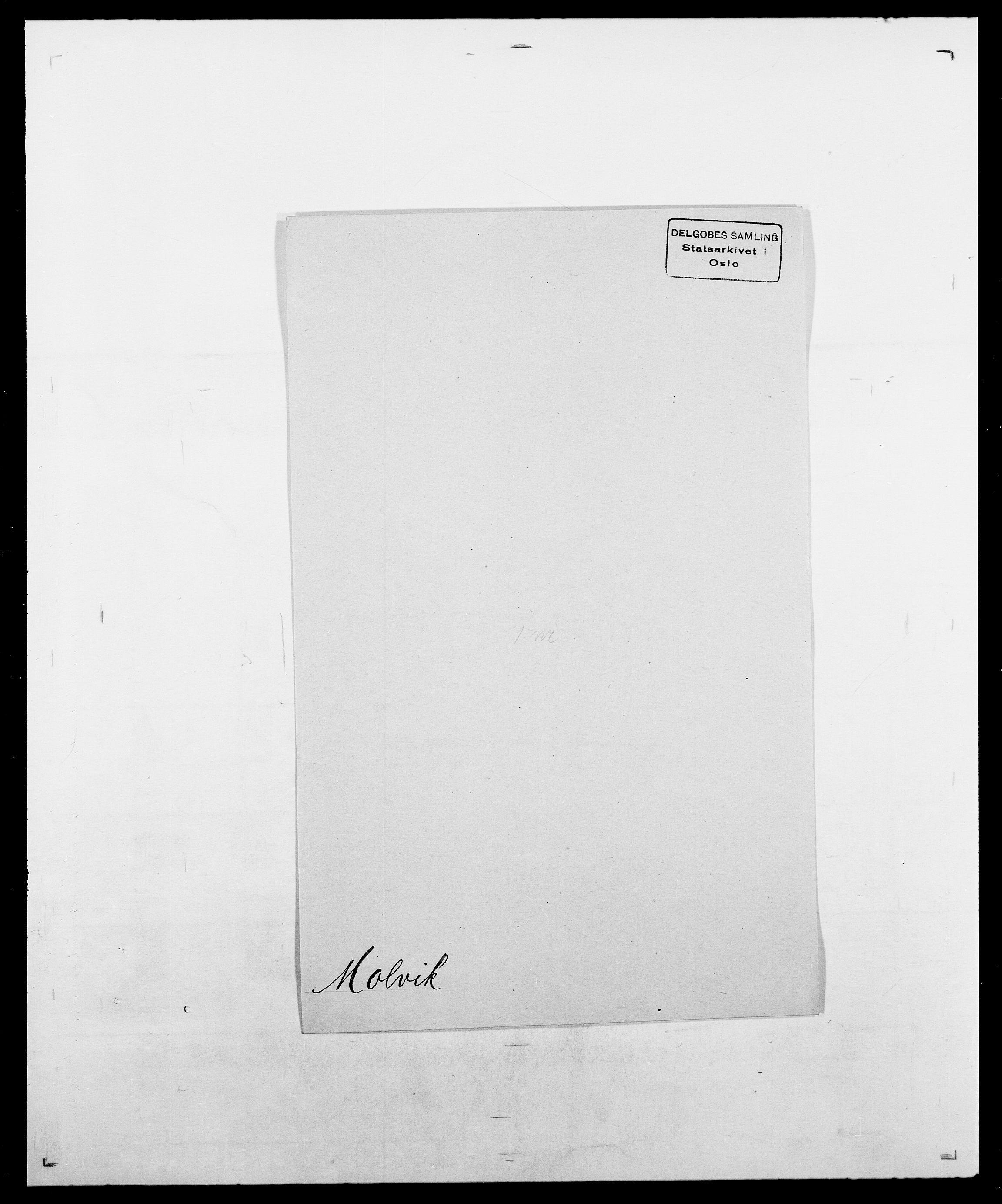 SAO, Delgobe, Charles Antoine - samling, D/Da/L0026: Mechelby - Montoppidan, s. 791