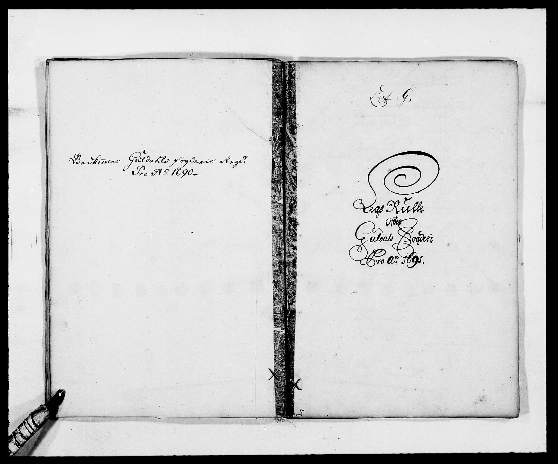 RA, Rentekammeret inntil 1814, Reviderte regnskaper, Fogderegnskap, R59/L3941: Fogderegnskap Gauldal, 1691, s. 95