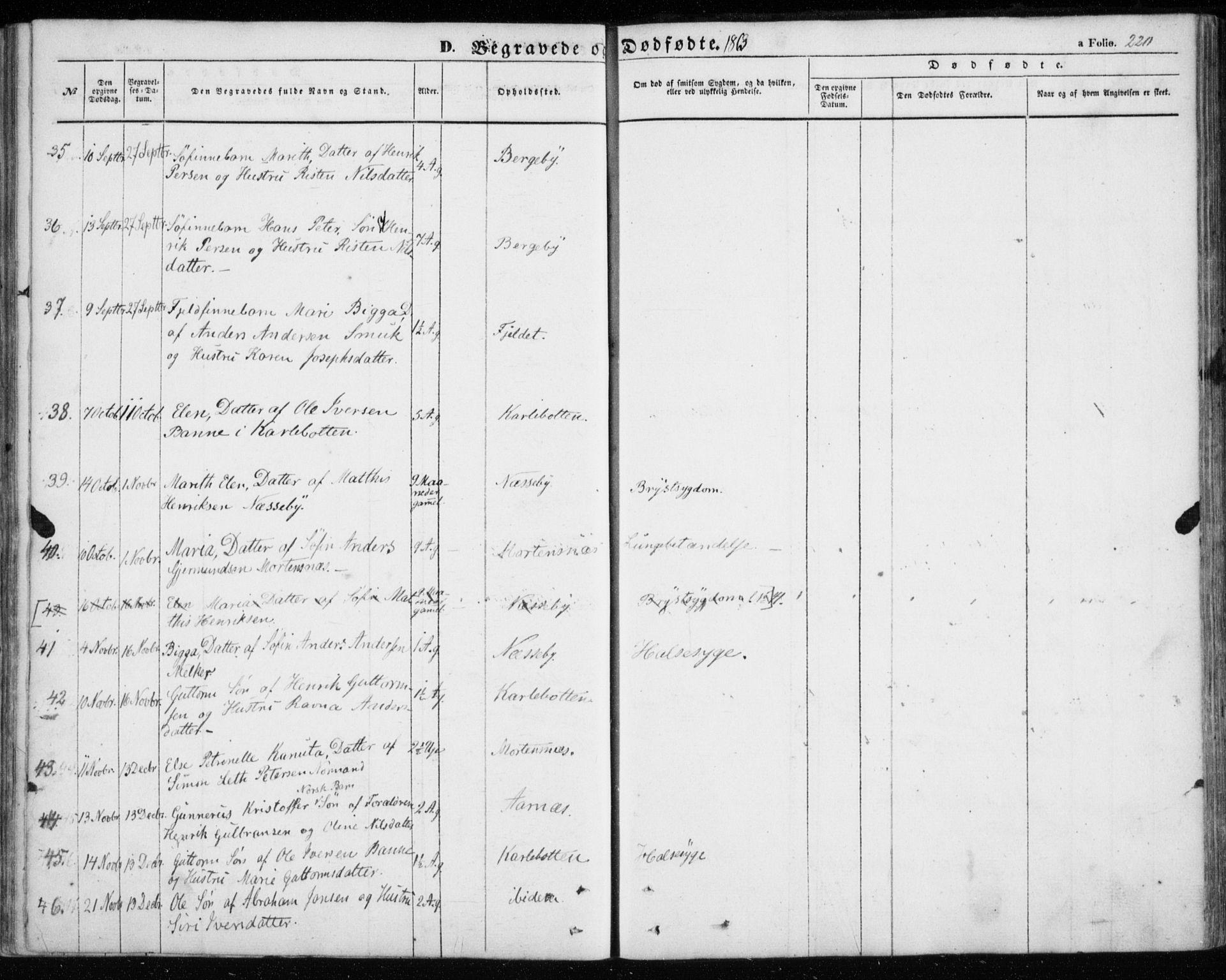 SATØ, Nesseby sokneprestkontor, H/Ha/L0002kirke: Ministerialbok nr. 2, 1856-1864, s. 220