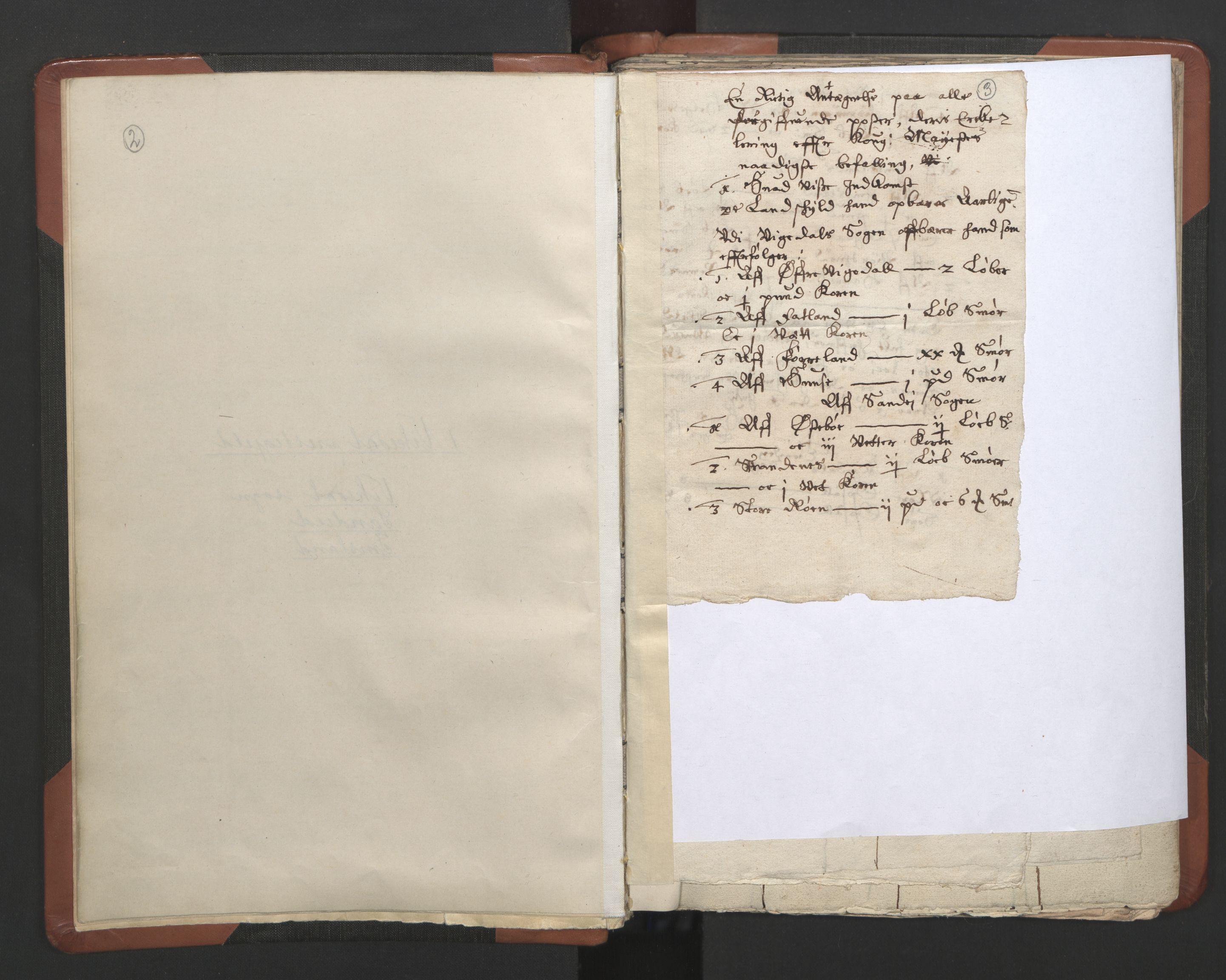 RA, Sogneprestenes manntall 1664-1666, nr. 19: Ryfylke prosti, 1664-1666, s. 2-3