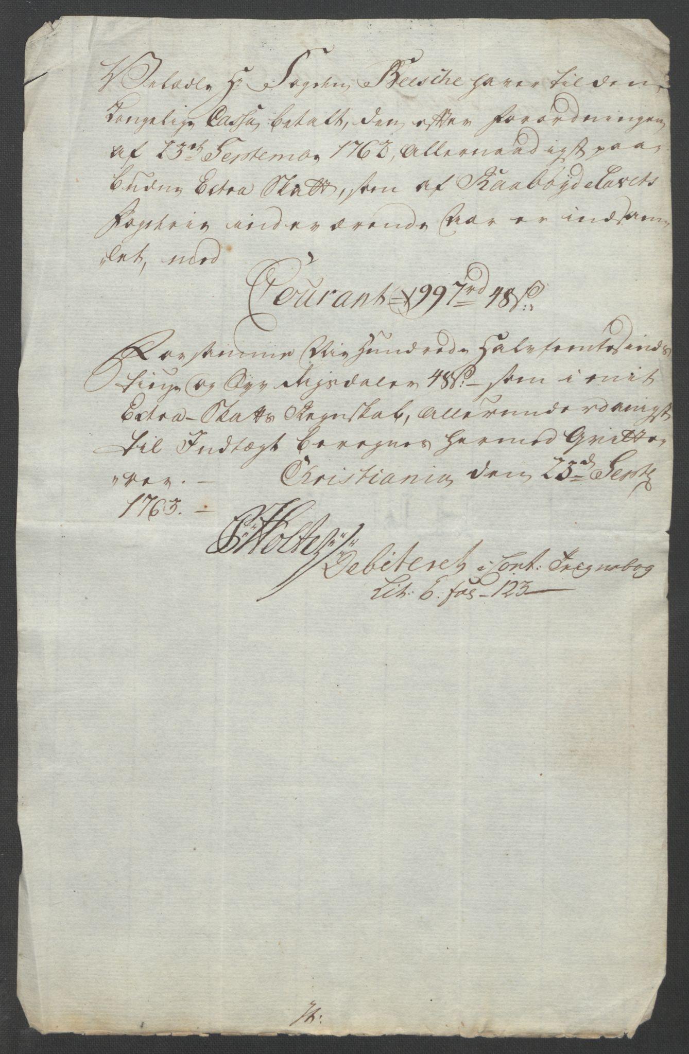 RA, Rentekammeret inntil 1814, Reviderte regnskaper, Fogderegnskap, R40/L2517: Ekstraskatten Råbyggelag, 1762-1763, s. 254