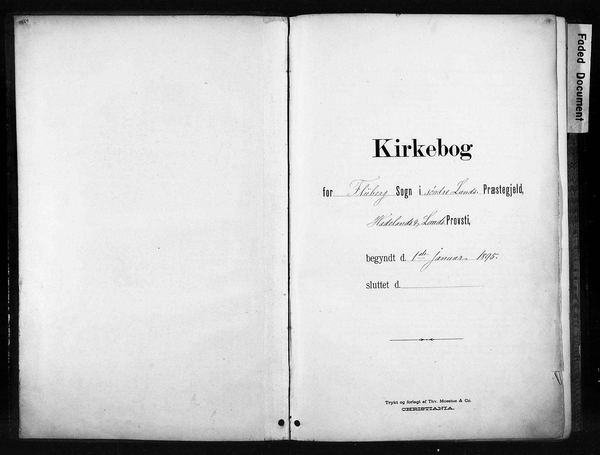 SAH, Søndre Land prestekontor, K/L0004: Ministerialbok nr. 4, 1895-1904