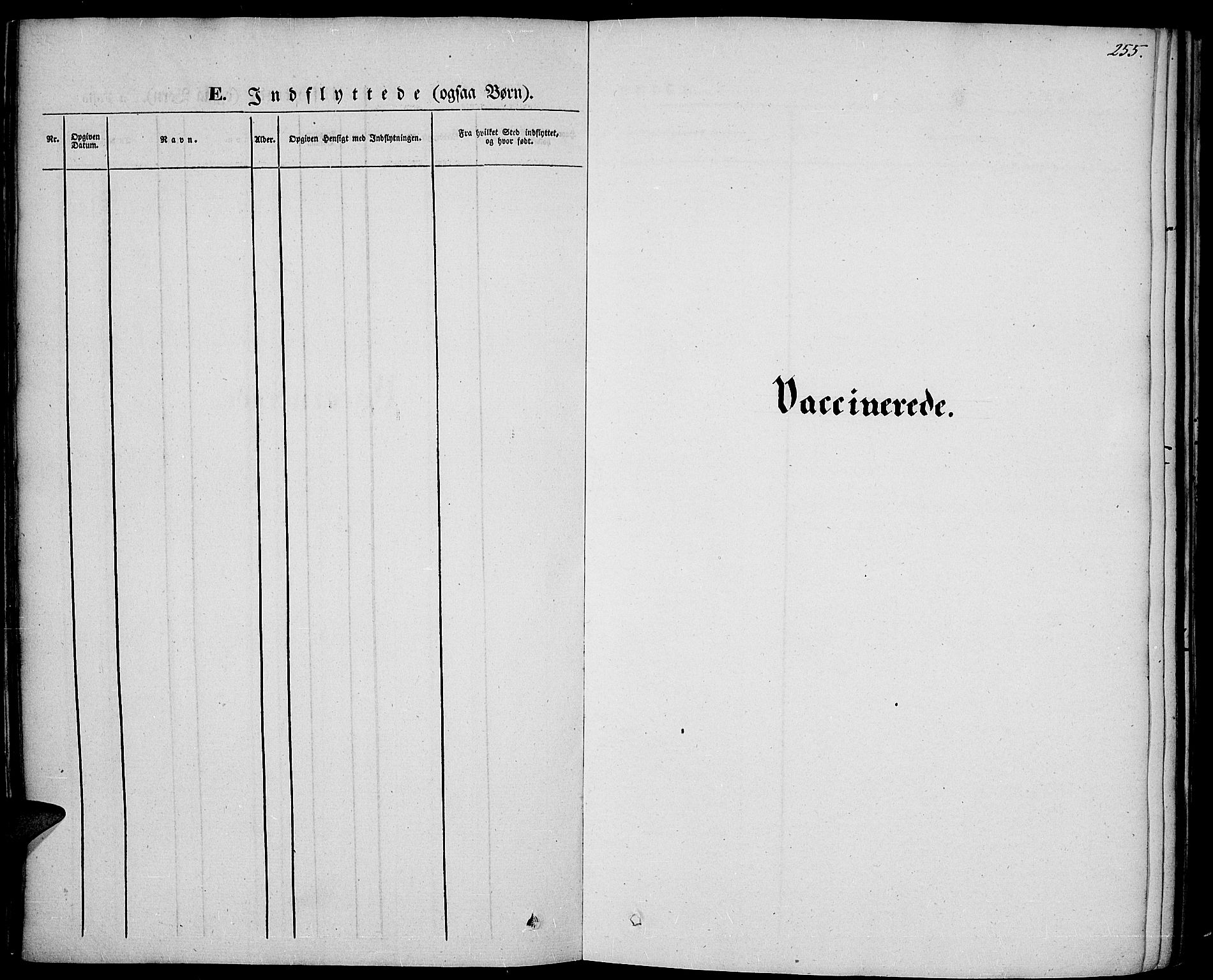 SAH, Vestre Toten prestekontor, H/Ha/Haa/L0004: Ministerialbok nr. 4, 1844-1849, s. 255