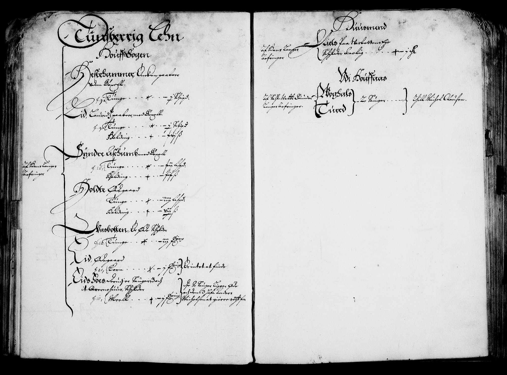 RA, Rentekammeret inntil 1814, Realistisk ordnet avdeling, On/L0001: Statens gods, 1651, s. 52