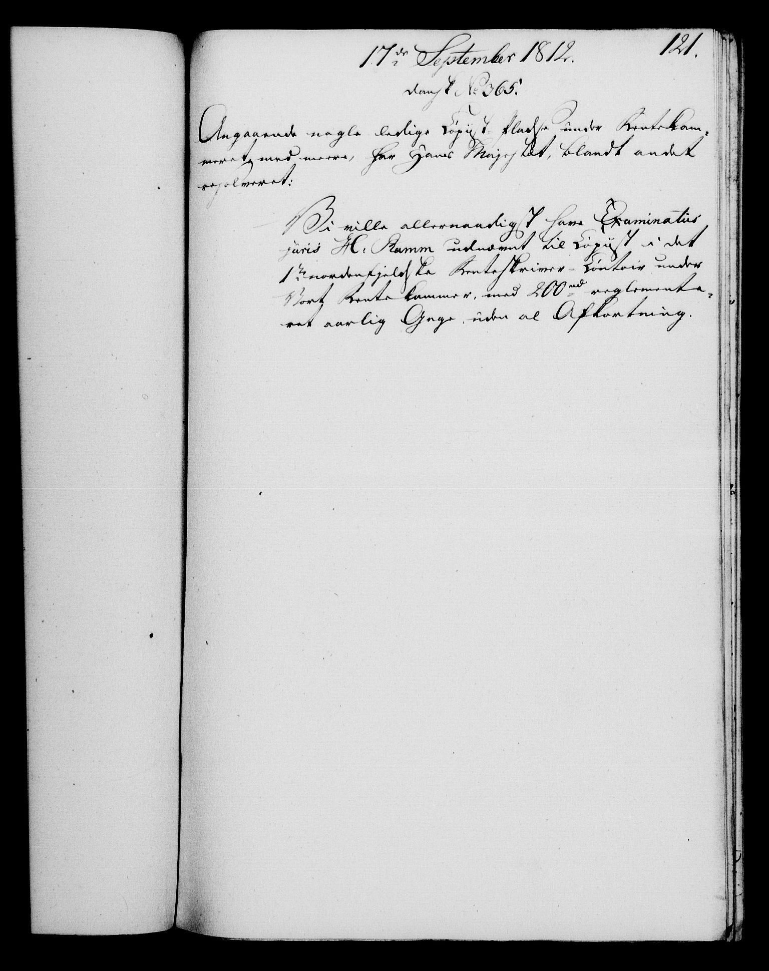 RA, Rentekammeret, Kammerkanselliet, G/Gf/Gfa/L0094: Norsk relasjons- og resolusjonsprotokoll (merket RK 52.94), 1812, s. 478